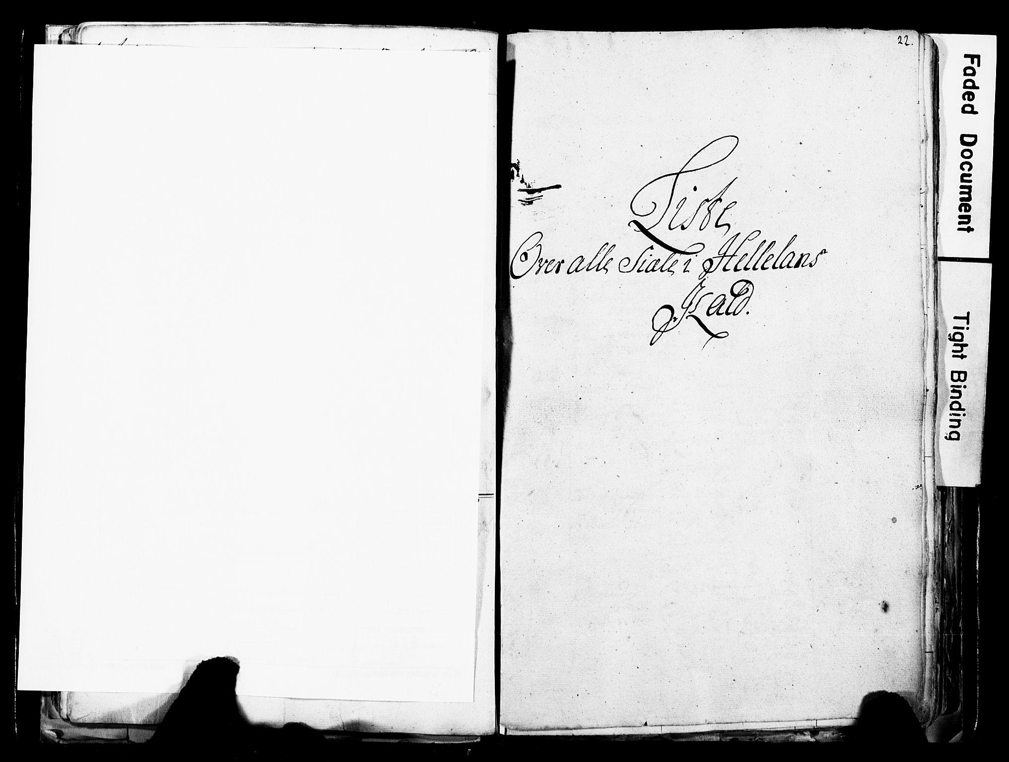 SAST, Fylkesmannen i Rogaland, 3/325/325CA/L0017: SJELEREGISTER JÆREN OG DALANE PRESTEGJELD, 1758, s. 22