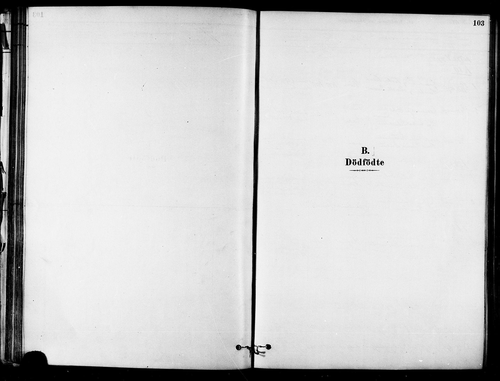 SAT, Ministerialprotokoller, klokkerbøker og fødselsregistre - Sør-Trøndelag, 657/L0707: Ministerialbok nr. 657A08, 1879-1893, s. 103