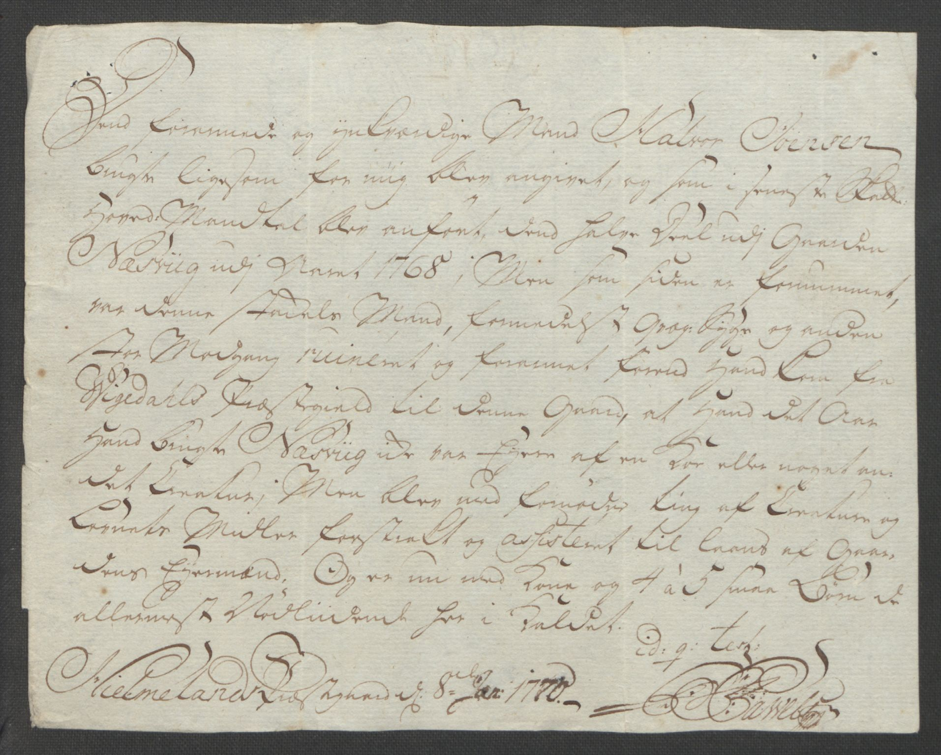 RA, Rentekammeret inntil 1814, Reviderte regnskaper, Fogderegnskap, R47/L2972: Ekstraskatten Ryfylke, 1762-1780, s. 234