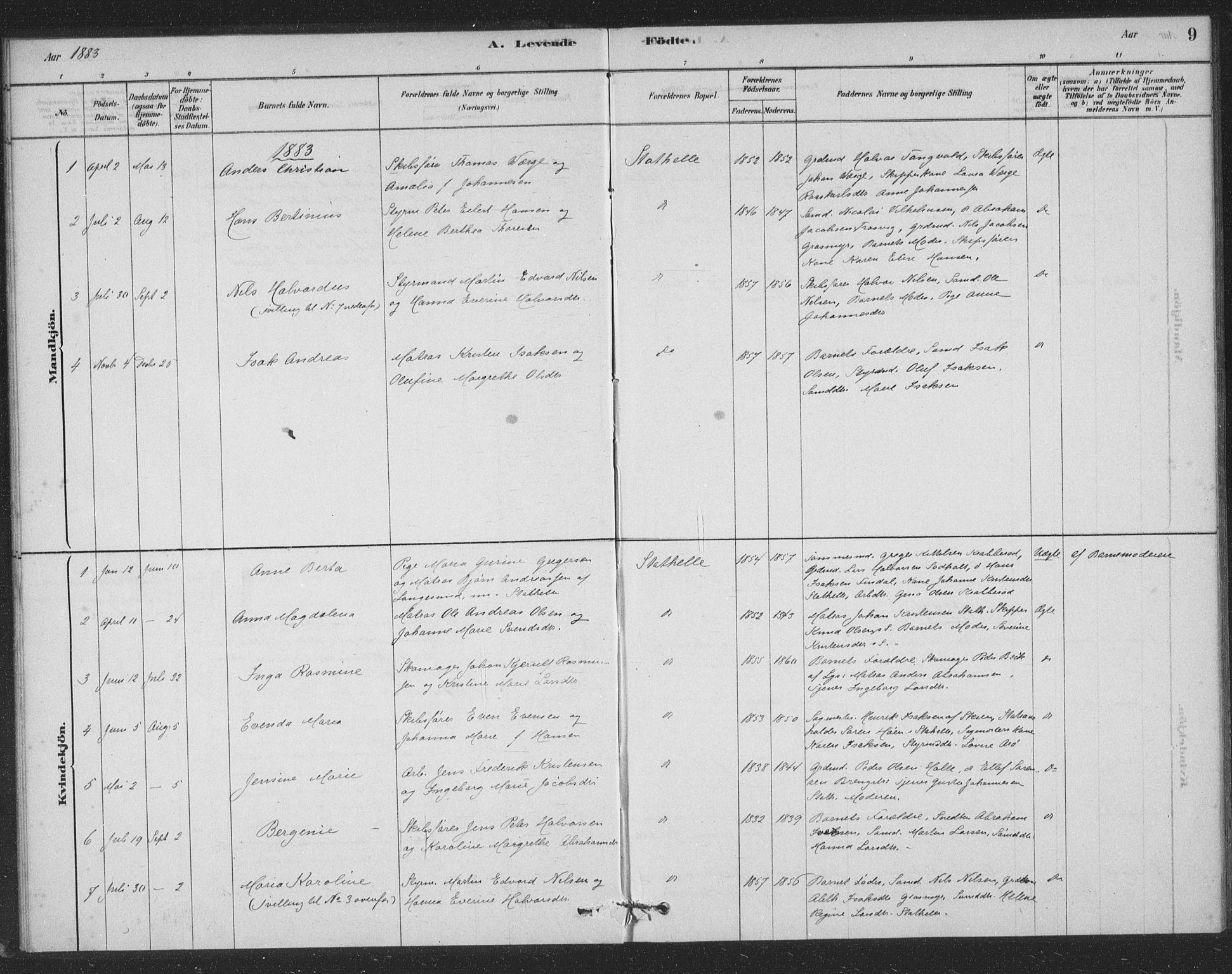 SAKO, Bamble kirkebøker, F/Fb/L0001: Ministerialbok nr. II 1, 1878-1899, s. 9
