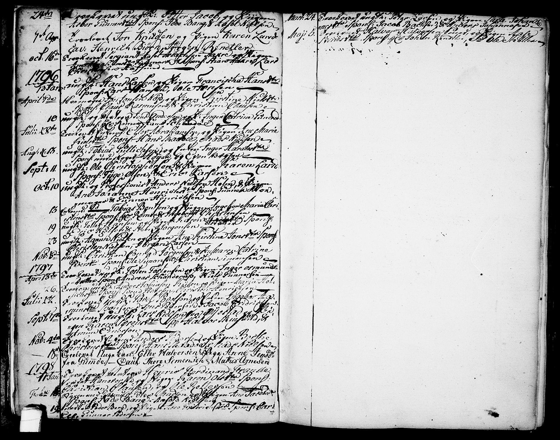 SAKO, Kragerø kirkebøker, F/Fa/L0002: Ministerialbok nr. 2, 1767-1802, s. 6