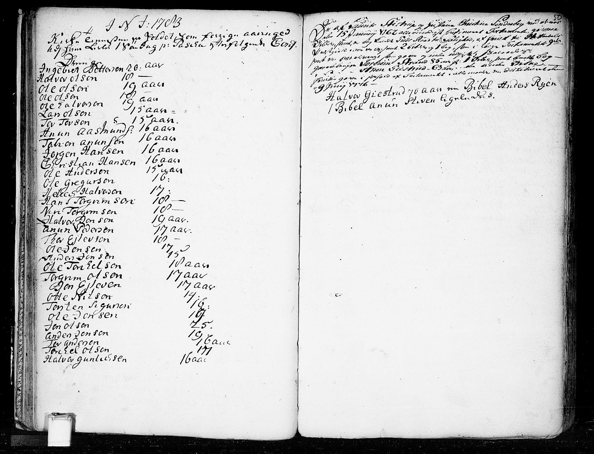 SAKO, Heddal kirkebøker, F/Fa/L0003: Ministerialbok nr. I 3, 1723-1783, s. 50