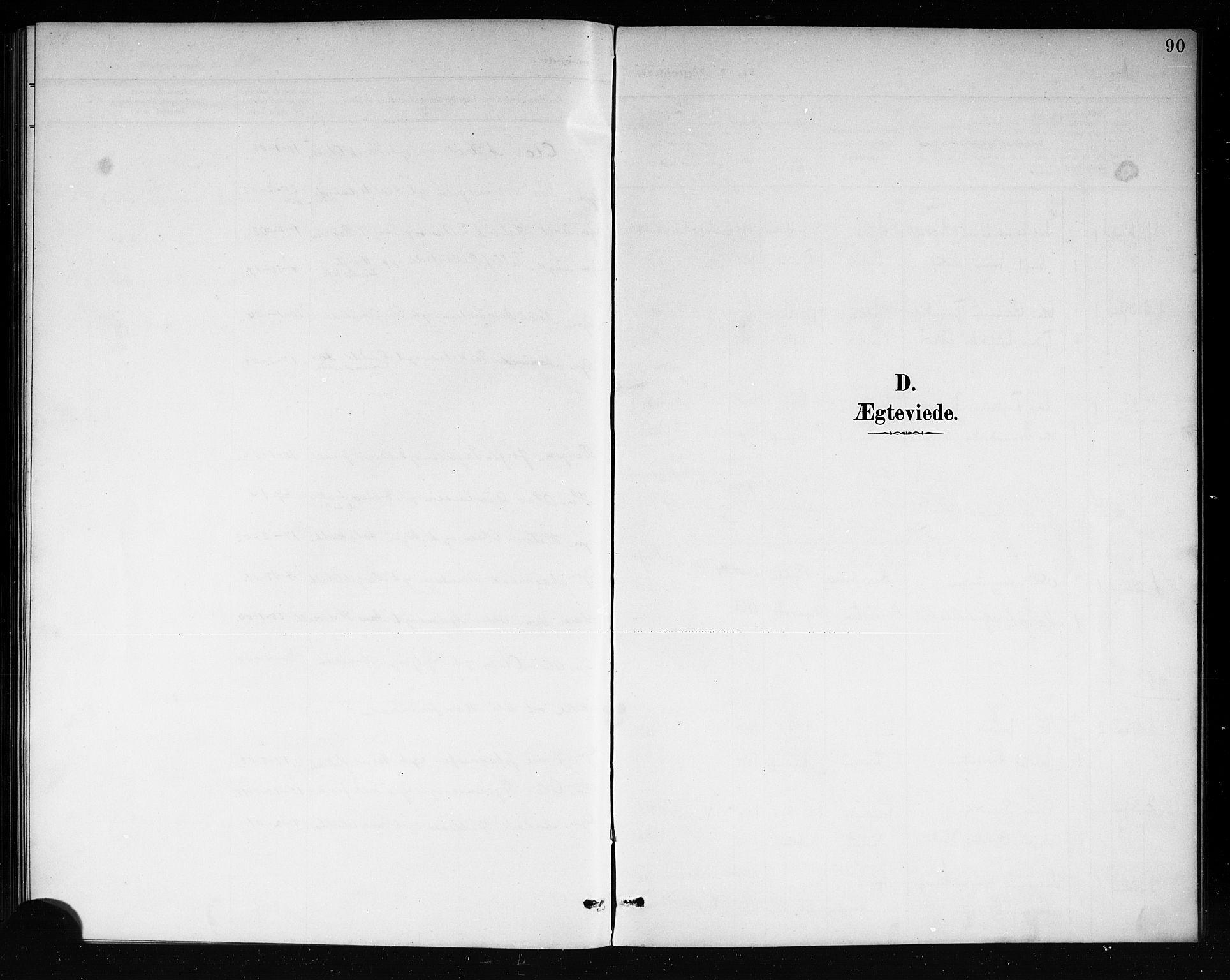 SAKO, Mo kirkebøker, G/Ga/L0002: Klokkerbok nr. I 2, 1892-1914, s. 90