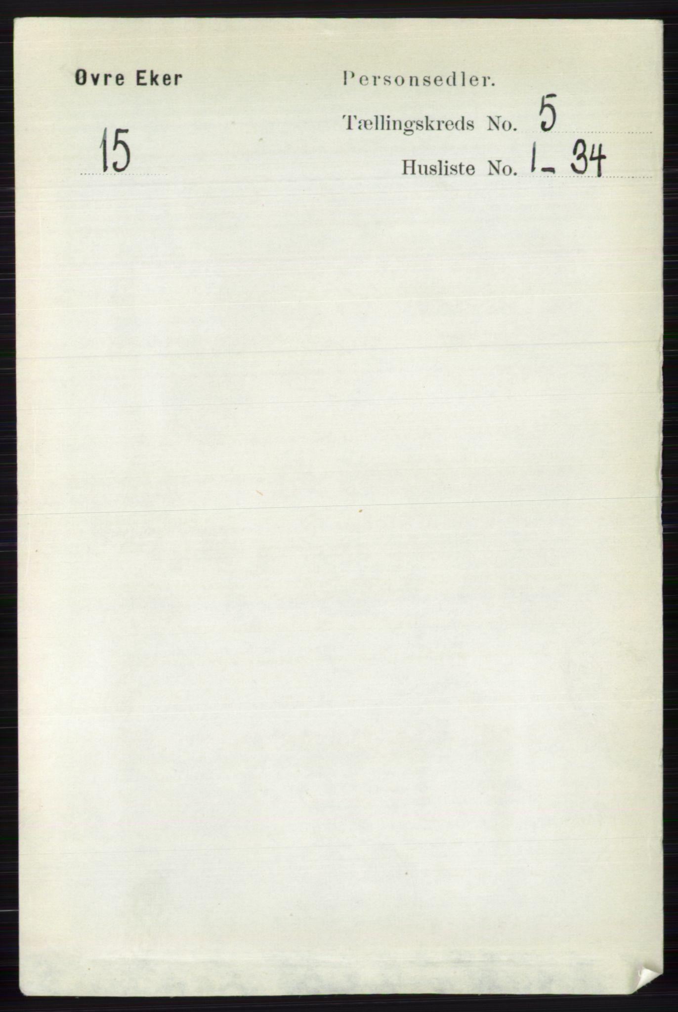 RA, Folketelling 1891 for 0624 Øvre Eiker herred, 1891, s. 1830