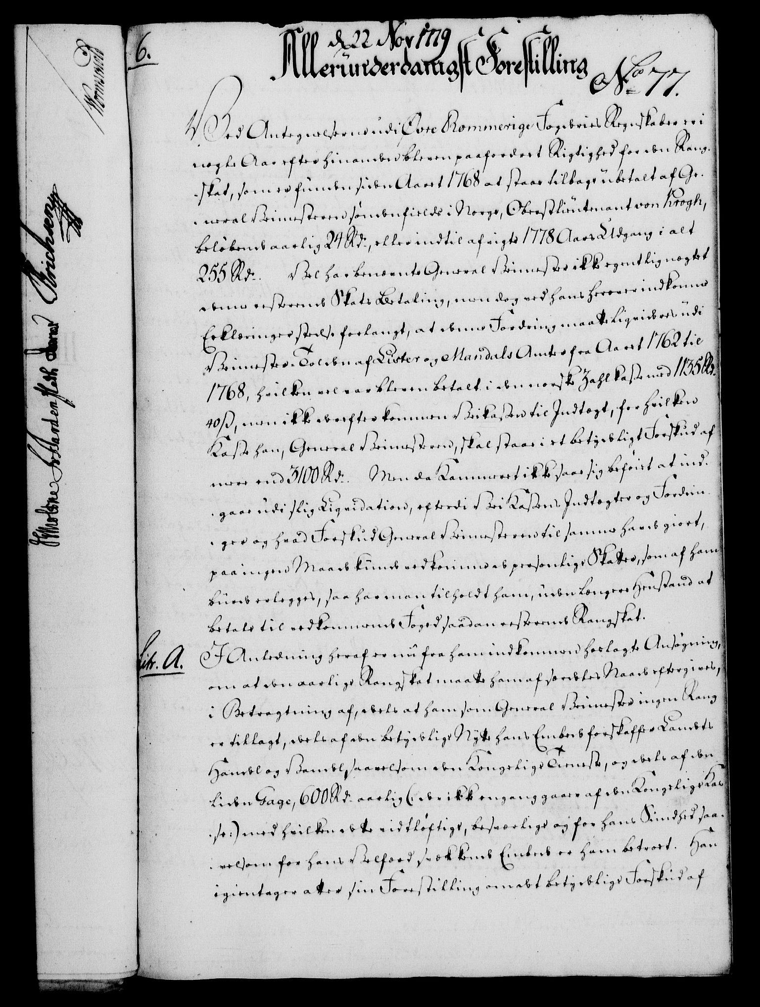 RA, Rentekammeret, Kammerkanselliet, G/Gf/Gfa/L0061: Norsk relasjons- og resolusjonsprotokoll (merket RK 52.61), 1779, s. 548