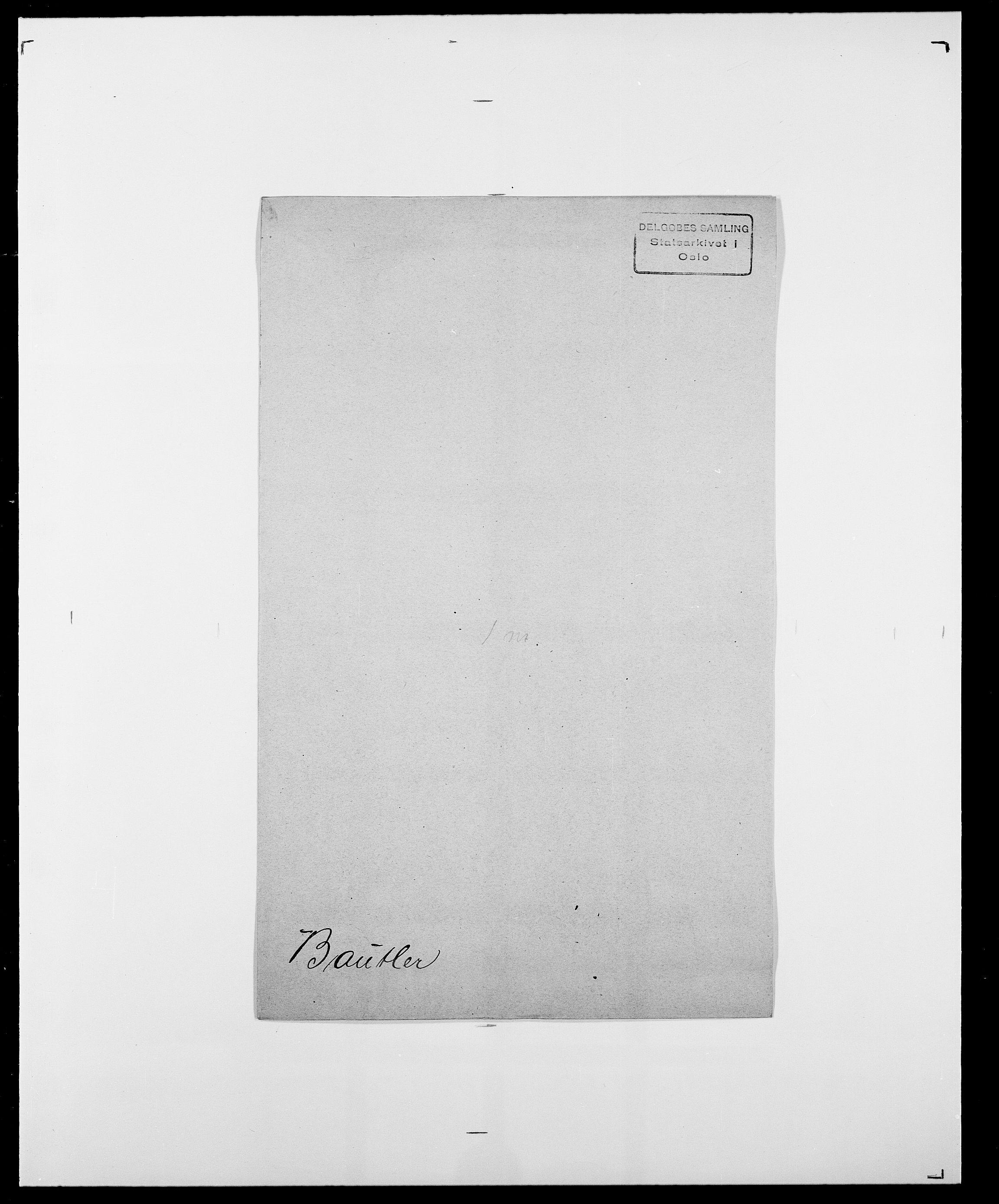SAO, Delgobe, Charles Antoine - samling, D/Da/L0003: Barca - Bergen, s. 467