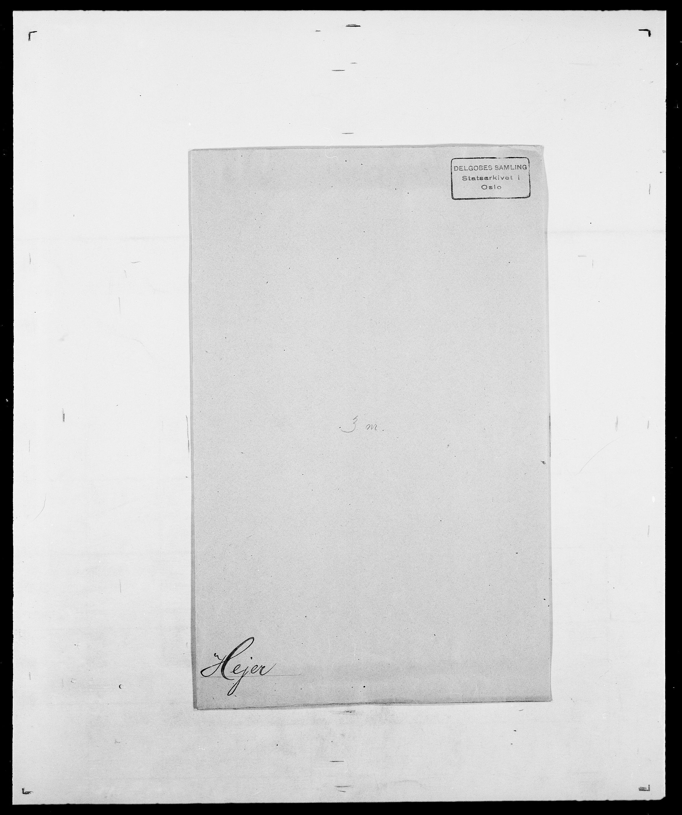 SAO, Delgobe, Charles Antoine - samling, D/Da/L0016: Hamborg - Hektoen, s. 878
