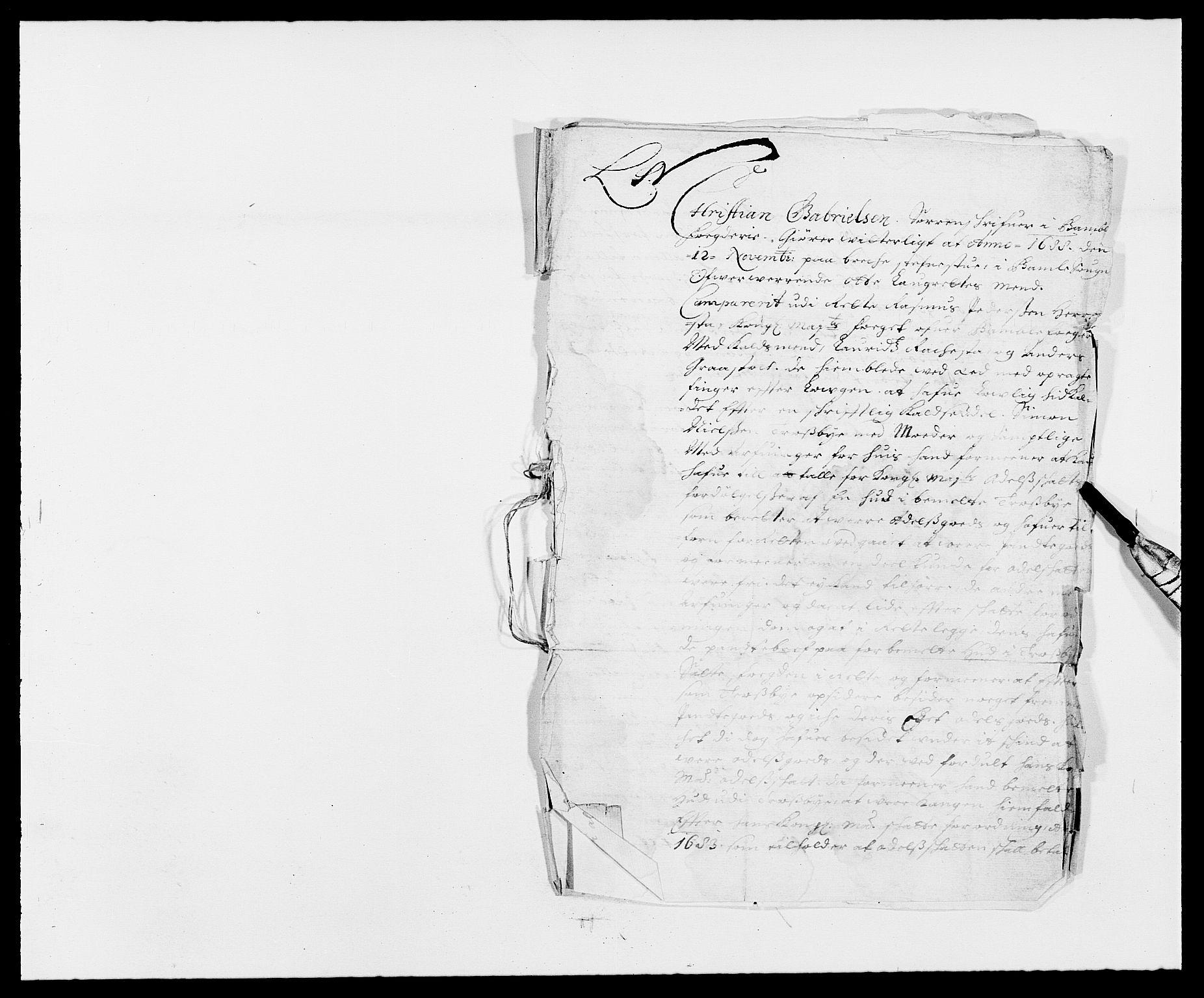RA, Rentekammeret inntil 1814, Reviderte regnskaper, Fogderegnskap, R34/L2050: Fogderegnskap Bamble, 1688-1691, s. 240