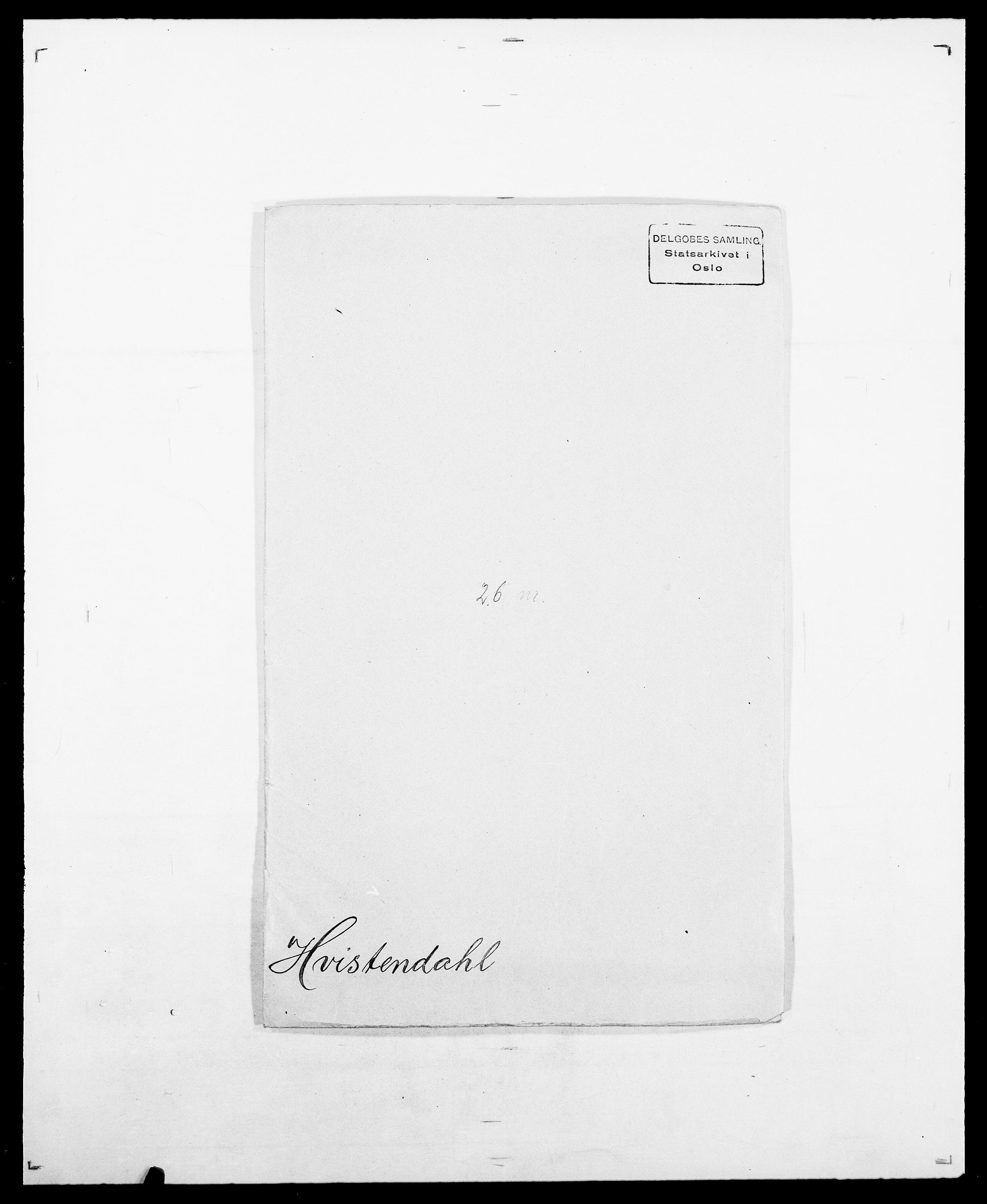 SAO, Delgobe, Charles Antoine - samling, D/Da/L0019: van der Hude - Joys, s. 195