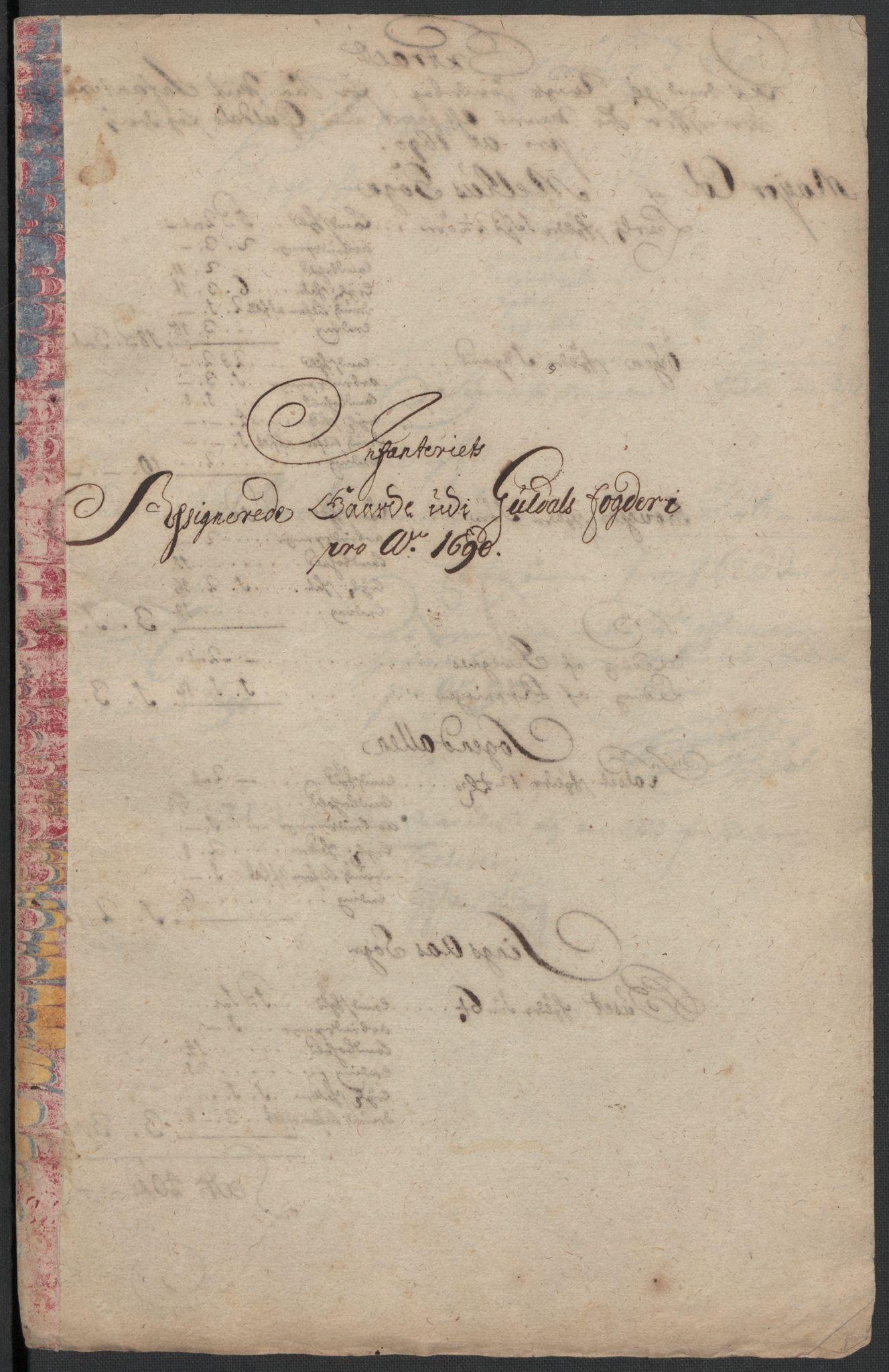 RA, Rentekammeret inntil 1814, Reviderte regnskaper, Fogderegnskap, R59/L3940: Fogderegnskap Gauldal, 1689-1690, s. 391