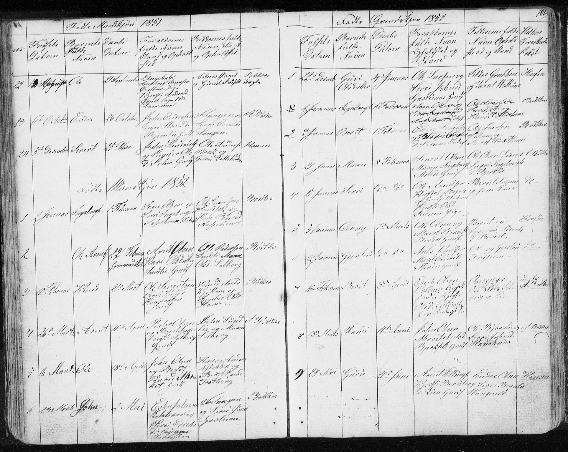 SAT, Ministerialprotokoller, klokkerbøker og fødselsregistre - Sør-Trøndelag, 689/L1043: Klokkerbok nr. 689C02, 1816-1892, s. 102