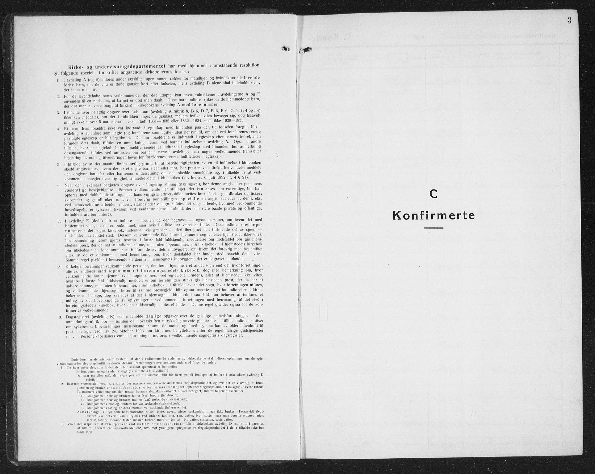 SAT, Ministerialprotokoller, klokkerbøker og fødselsregistre - Sør-Trøndelag, 605/L0258: Klokkerbok nr. 605C05, 1918-1930, s. 3