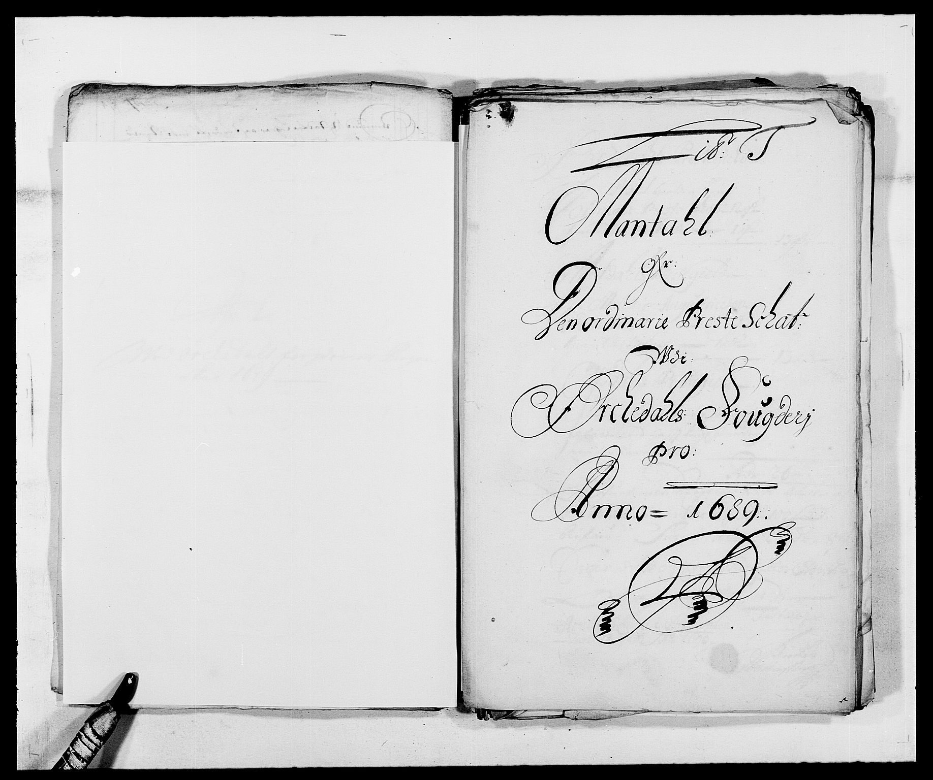 RA, Rentekammeret inntil 1814, Reviderte regnskaper, Fogderegnskap, R58/L3936: Fogderegnskap Orkdal, 1689-1690, s. 179