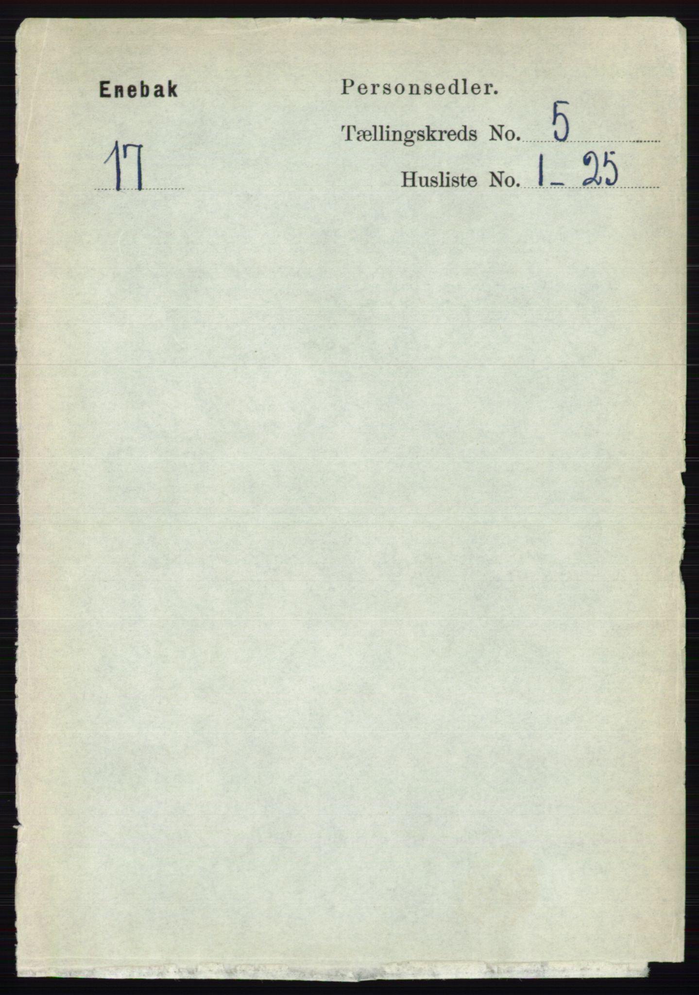 RA, Folketelling 1891 for 0229 Enebakk herred, 1891, s. 1974