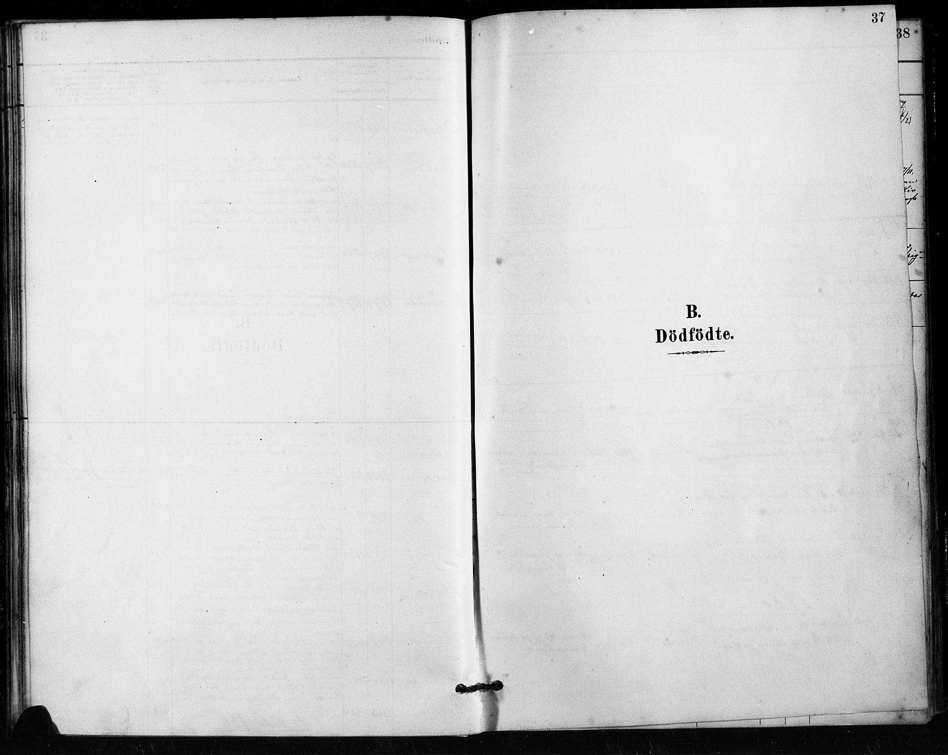 SAST, Håland sokneprestkontor, 30BA/L0011: Ministerialbok nr. A 10, 1883-1900, s. 37