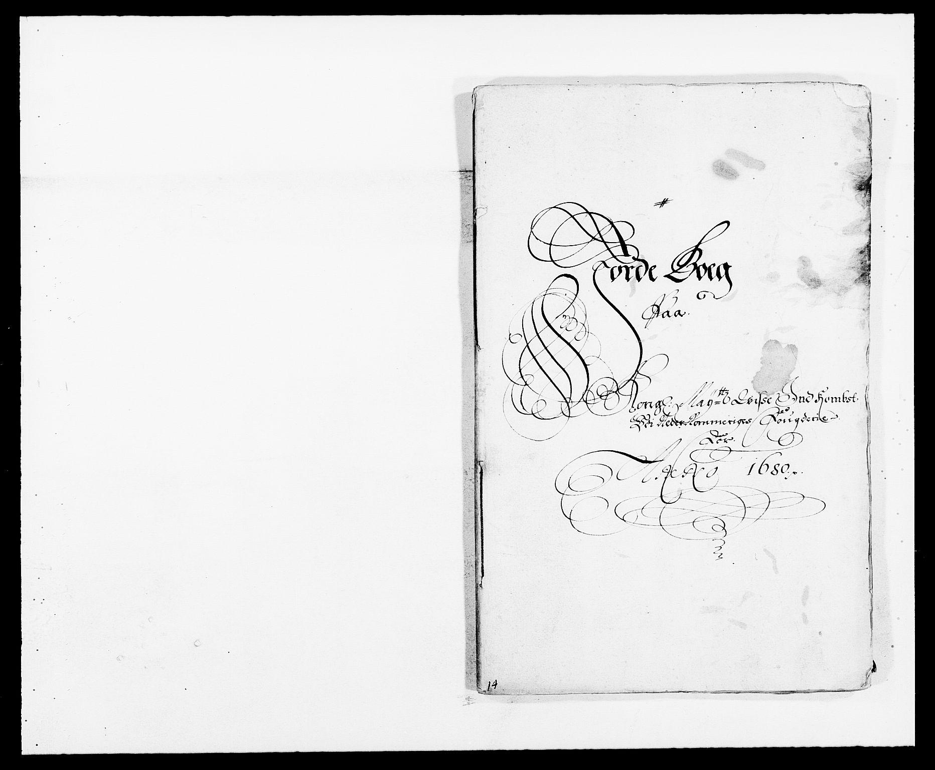 RA, Rentekammeret inntil 1814, Reviderte regnskaper, Fogderegnskap, R11/L0569: Fogderegnskap Nedre Romerike, 1680-1681, s. 7
