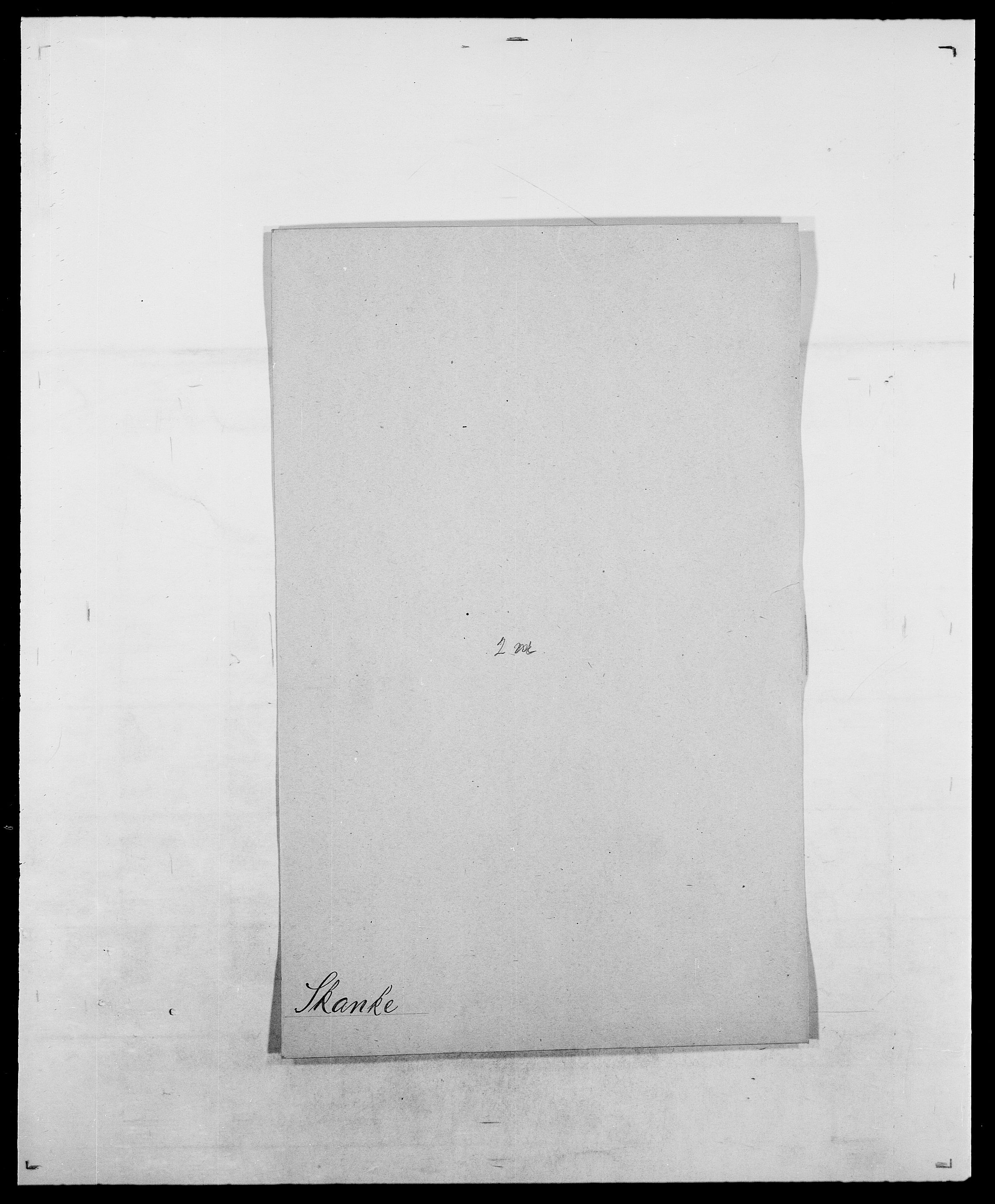 SAO, Delgobe, Charles Antoine - samling, D/Da/L0036: Skaanør - Staverskov, s. 27