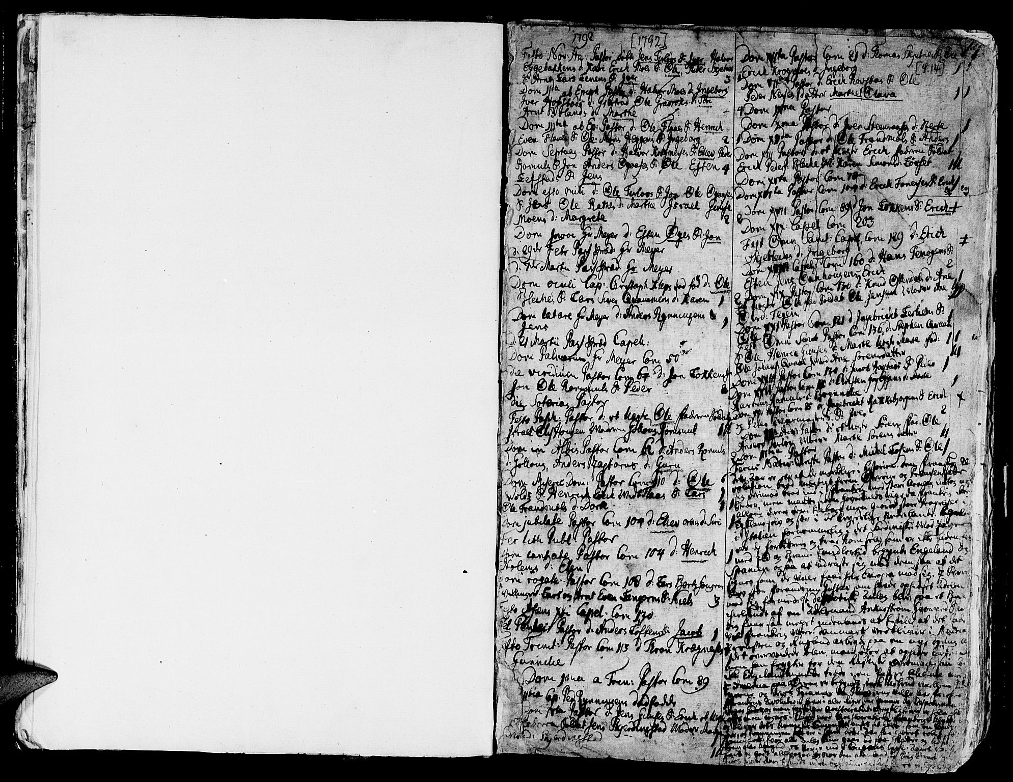 SAT, Ministerialprotokoller, klokkerbøker og fødselsregistre - Sør-Trøndelag, 691/L1061: Ministerialbok nr. 691A02 /1, 1768-1815, s. 14