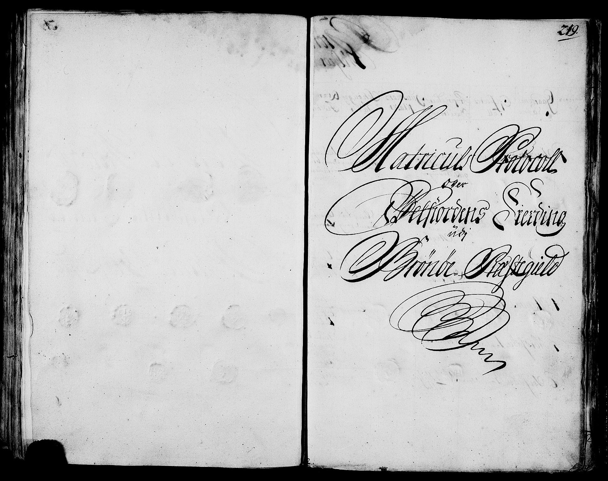 RA, Rentekammeret inntil 1814, Realistisk ordnet avdeling, N/Nb/Nbf/L0170: Helgeland eksaminasjonsprotokoll, 1723, s. 218b-219a