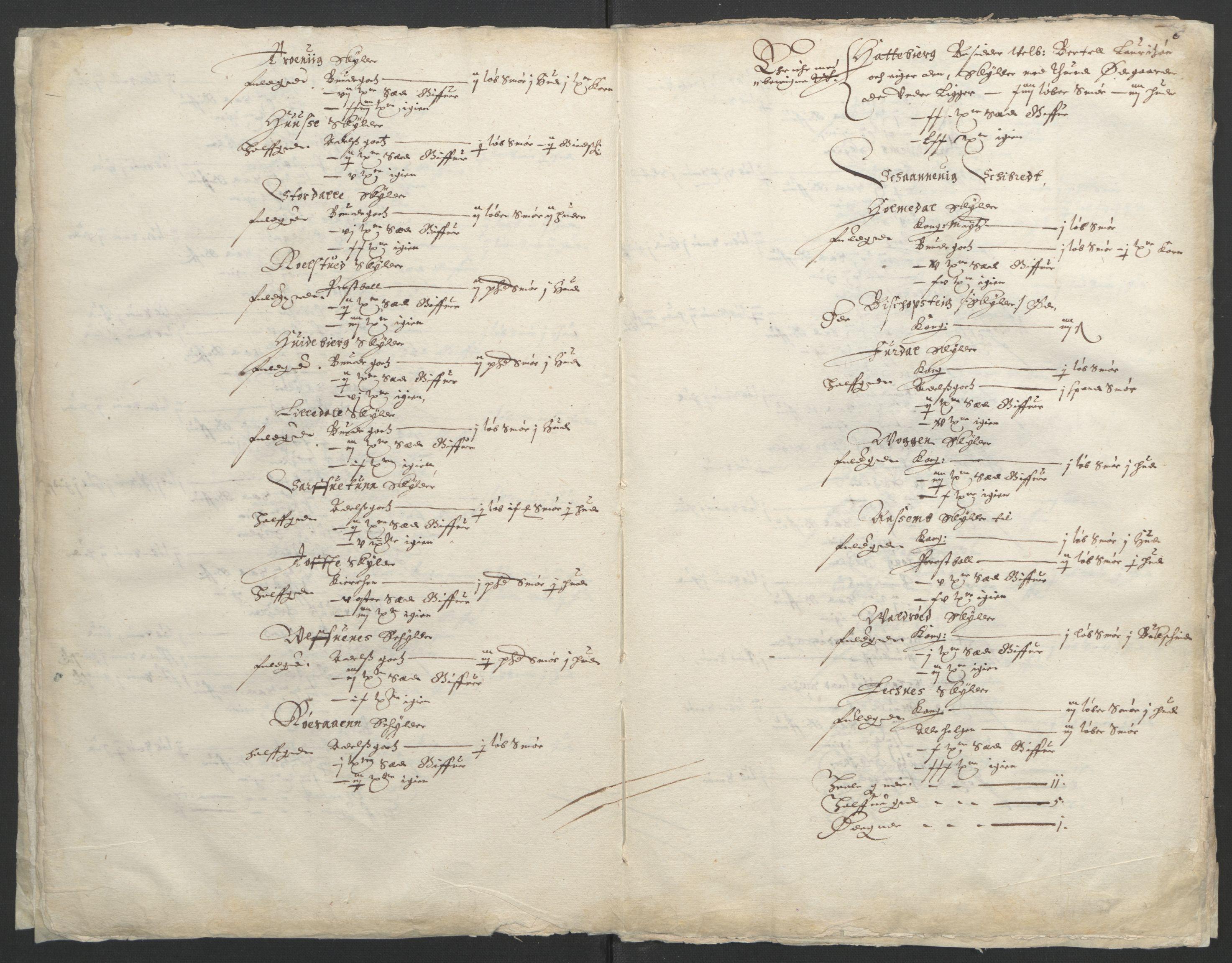 RA, Stattholderembetet 1572-1771, Ek/L0004: Jordebøker til utlikning av garnisonsskatt 1624-1626:, 1626, s. 10