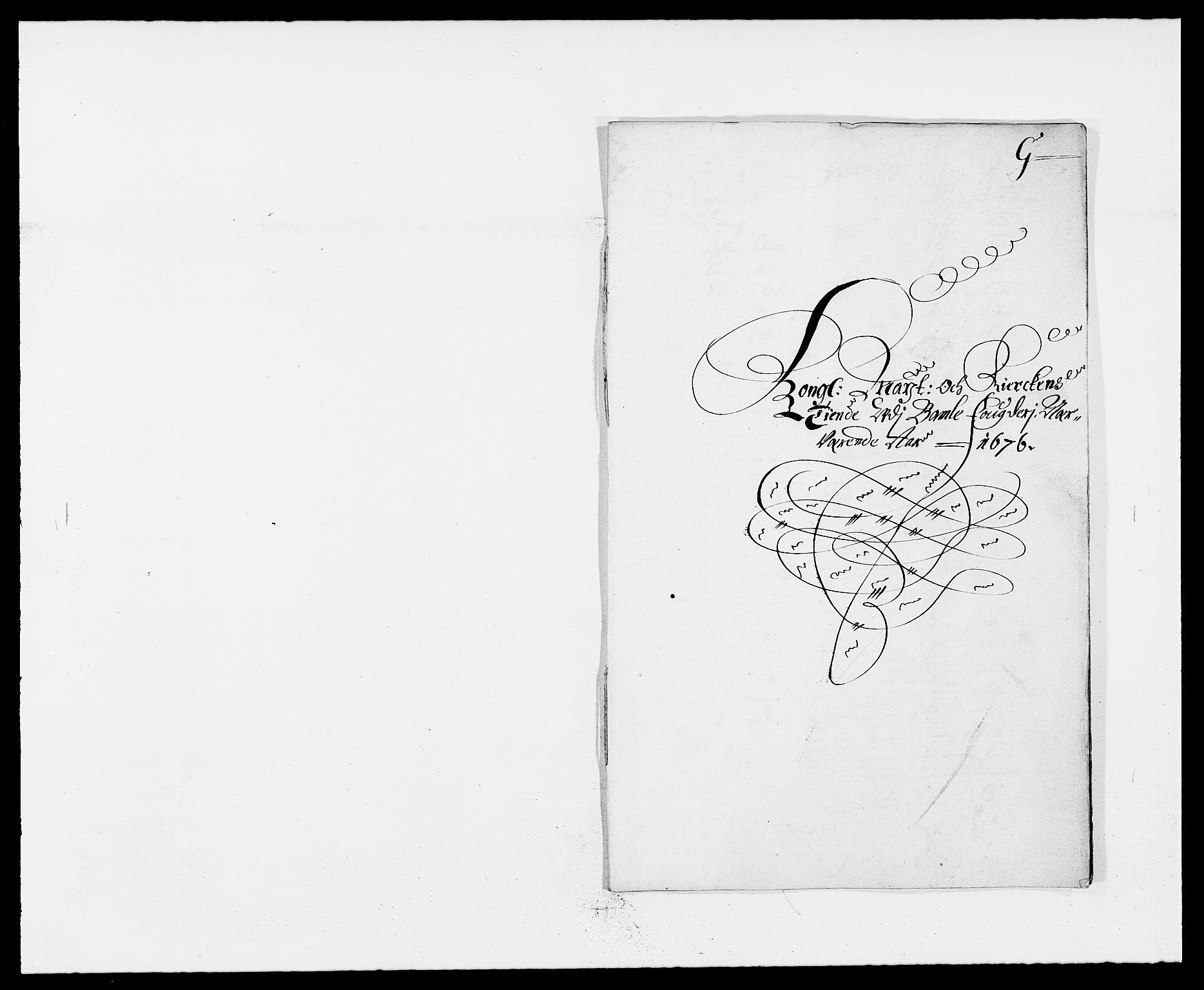 RA, Rentekammeret inntil 1814, Reviderte regnskaper, Fogderegnskap, R34/L2043: Fogderegnskap Bamble, 1676-1677, s. 141