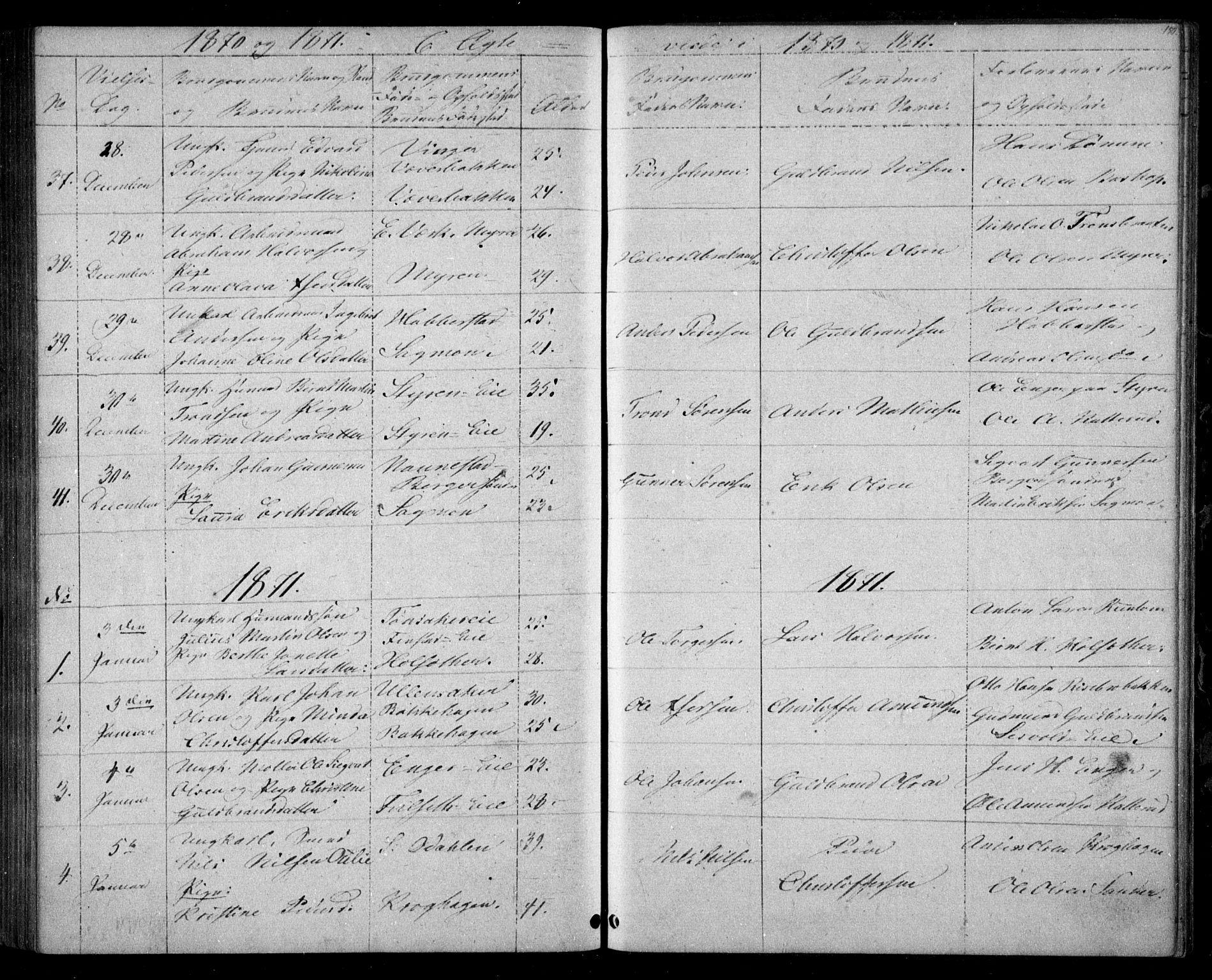 SAO, Eidsvoll prestekontor Kirkebøker, G/Ga/L0002: Klokkerbok nr. I 2, 1866-1871, s. 150