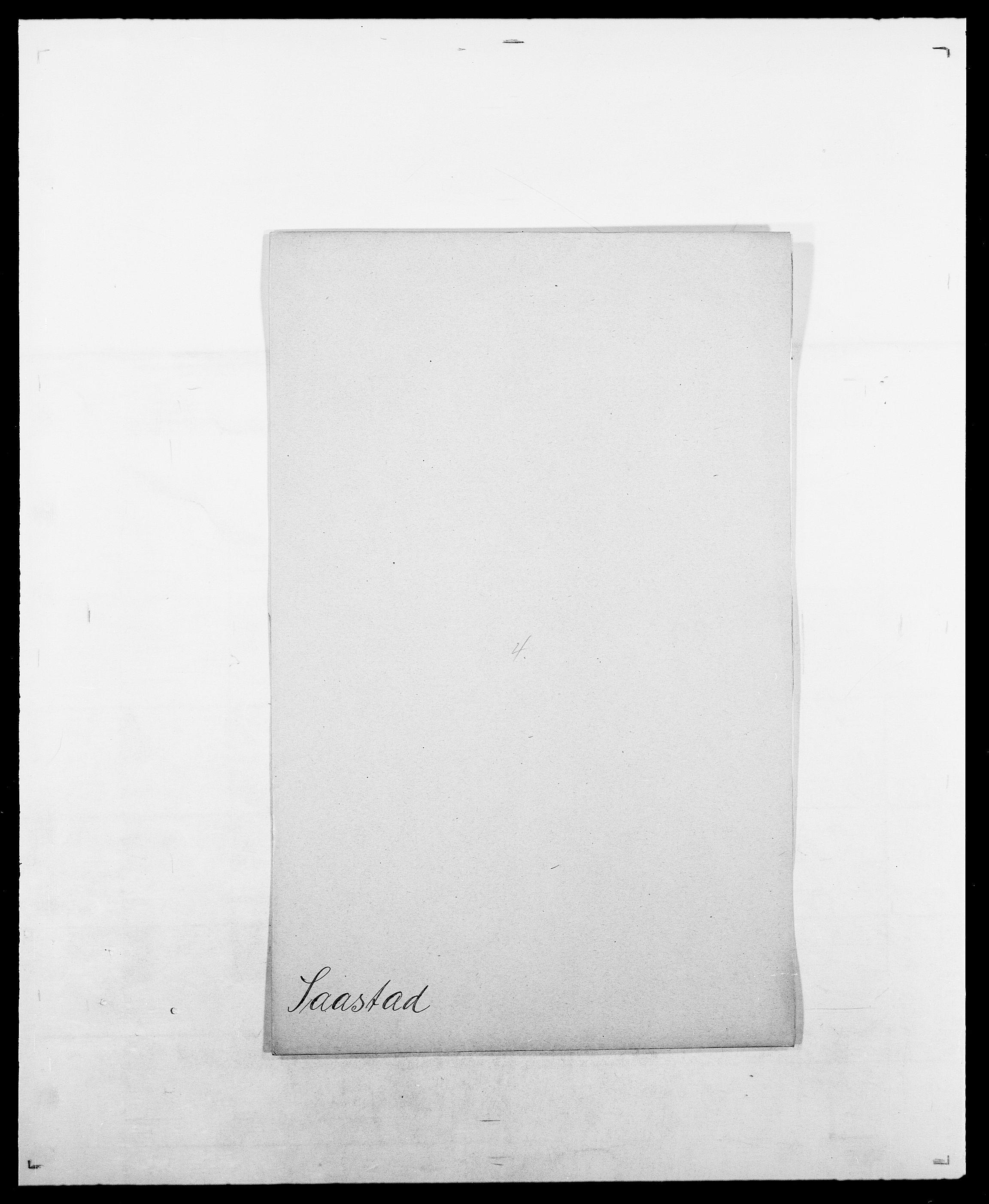 SAO, Delgobe, Charles Antoine - samling, D/Da/L0034: Saabye - Schmincke, s. 8