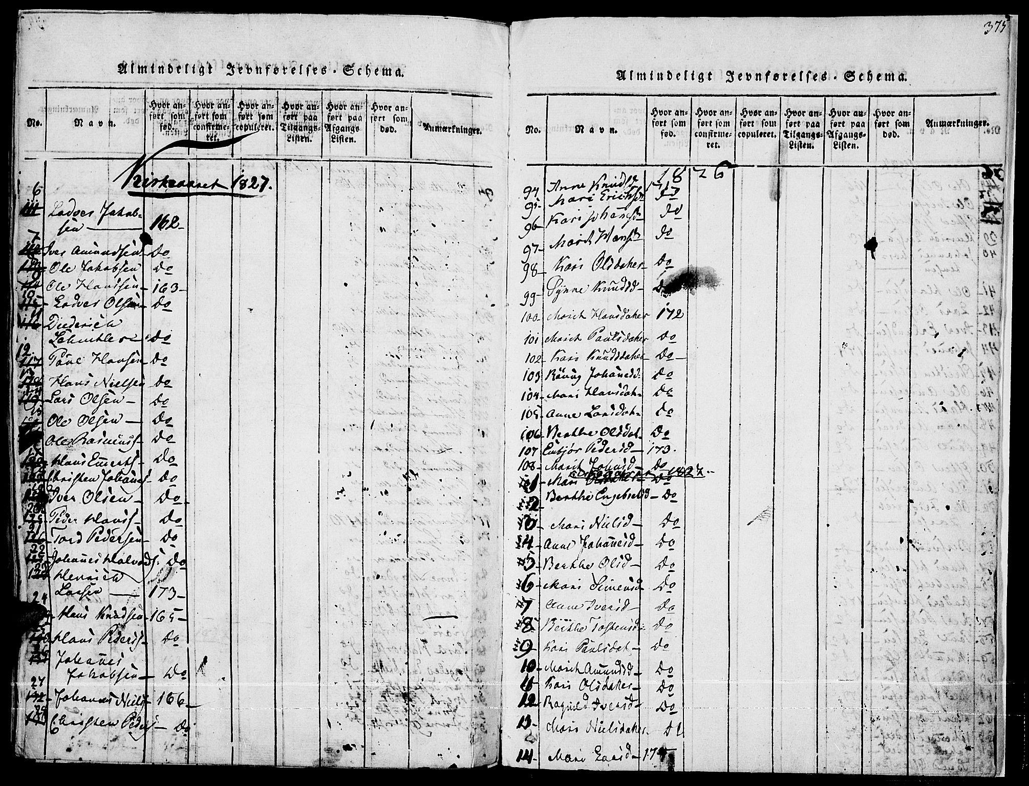 SAH, Fron prestekontor, H/Ha/Haa/L0002: Ministerialbok nr. 2, 1816-1827, s. 375