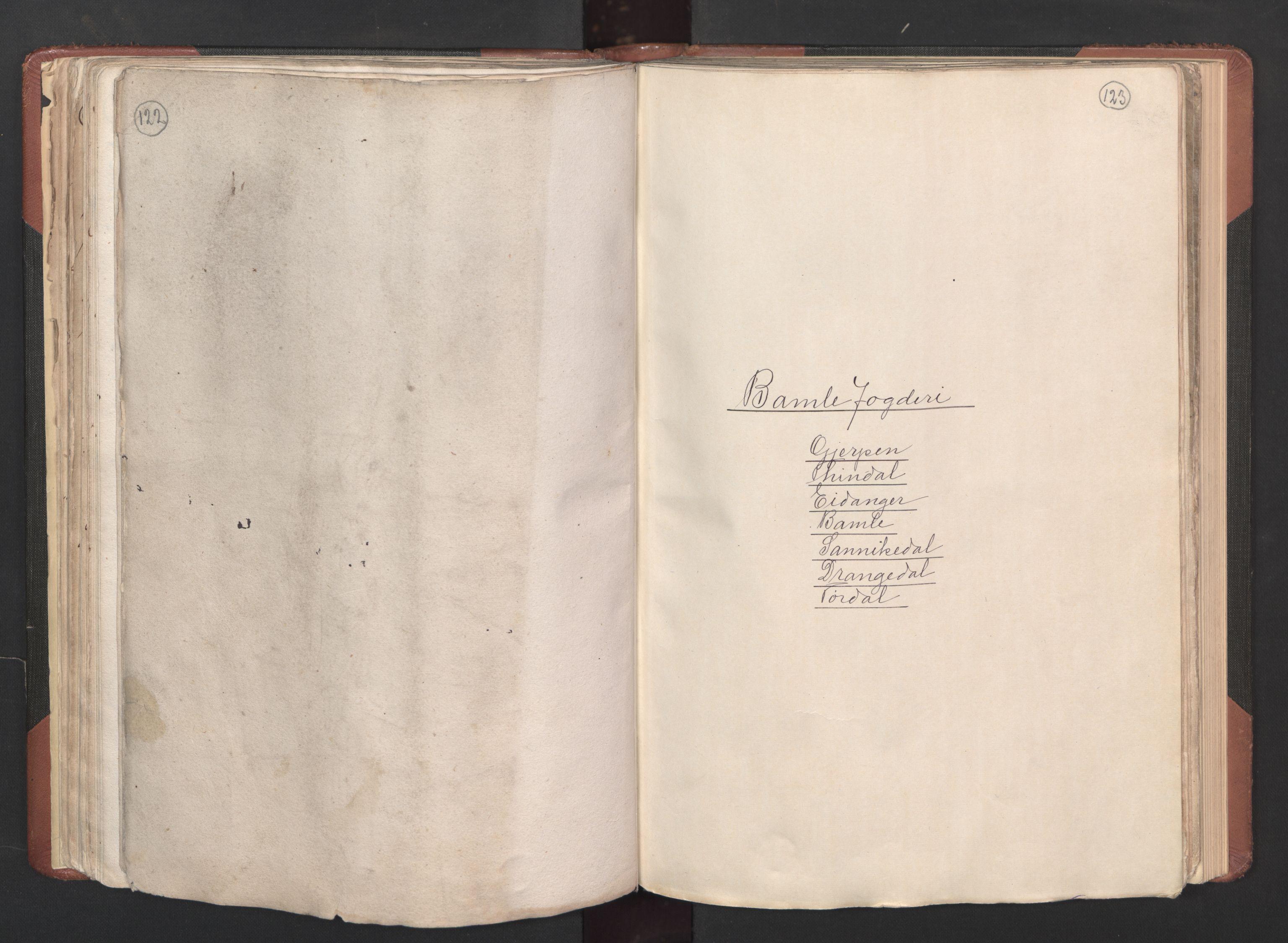 RA, Fogdenes og sorenskrivernes manntall 1664-1666, nr. 6: Øvre og Nedre Telemark fogderi og Bamble fogderi , 1664, s. 122-123