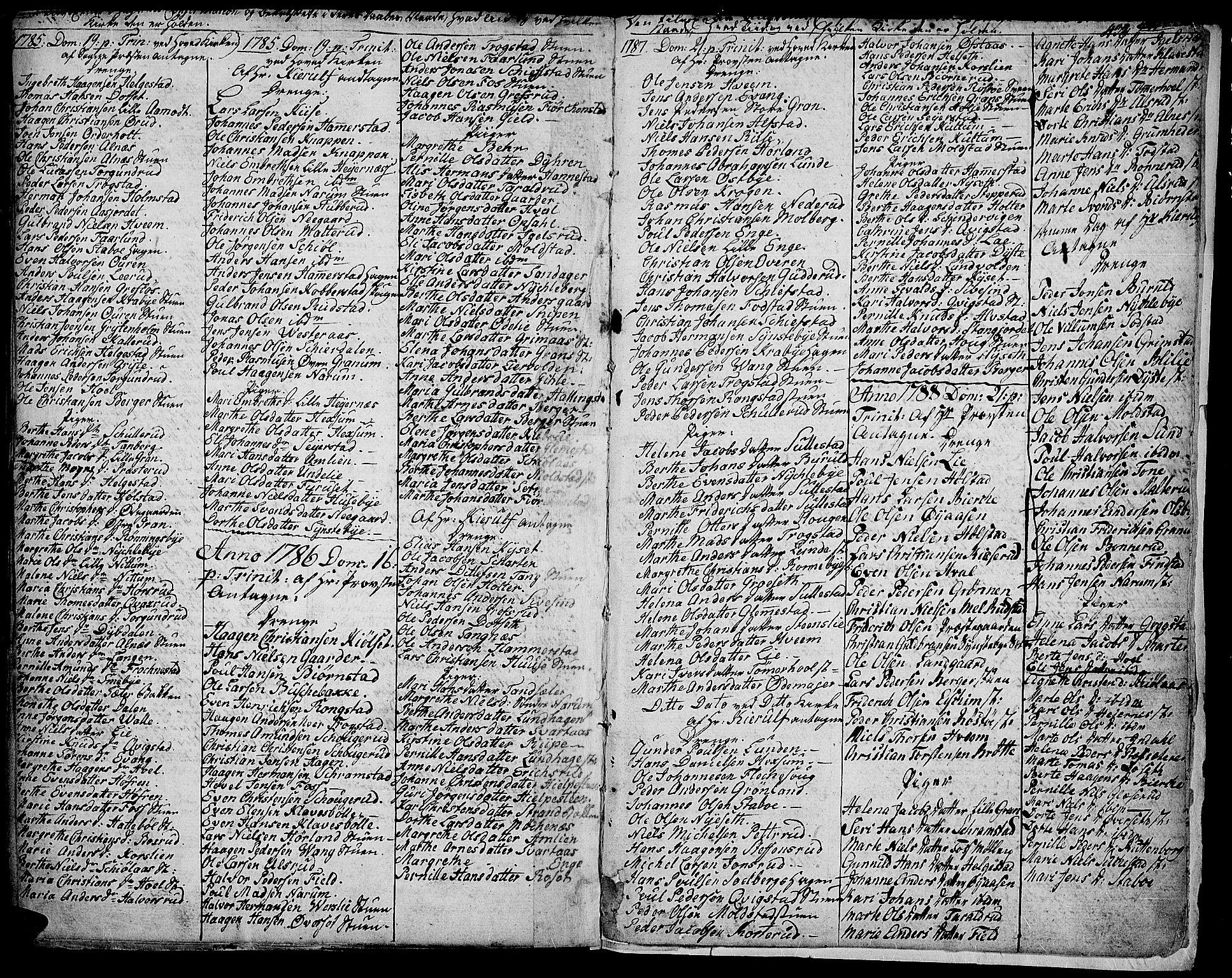 SAH, Toten prestekontor, Ministerialbok nr. 6, 1773-1793, s. 432