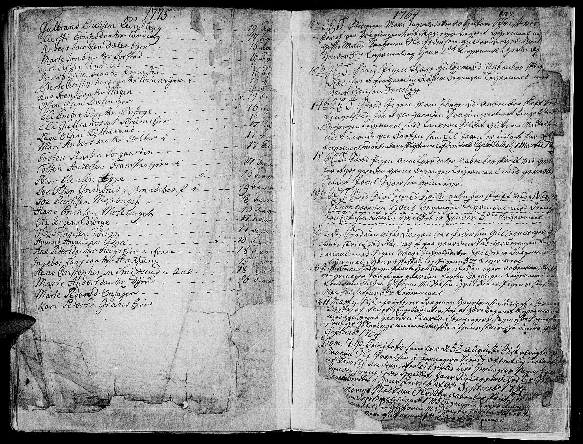 SAH, Gran prestekontor, Ministerialbok nr. 4, 1759-1775, s. 275