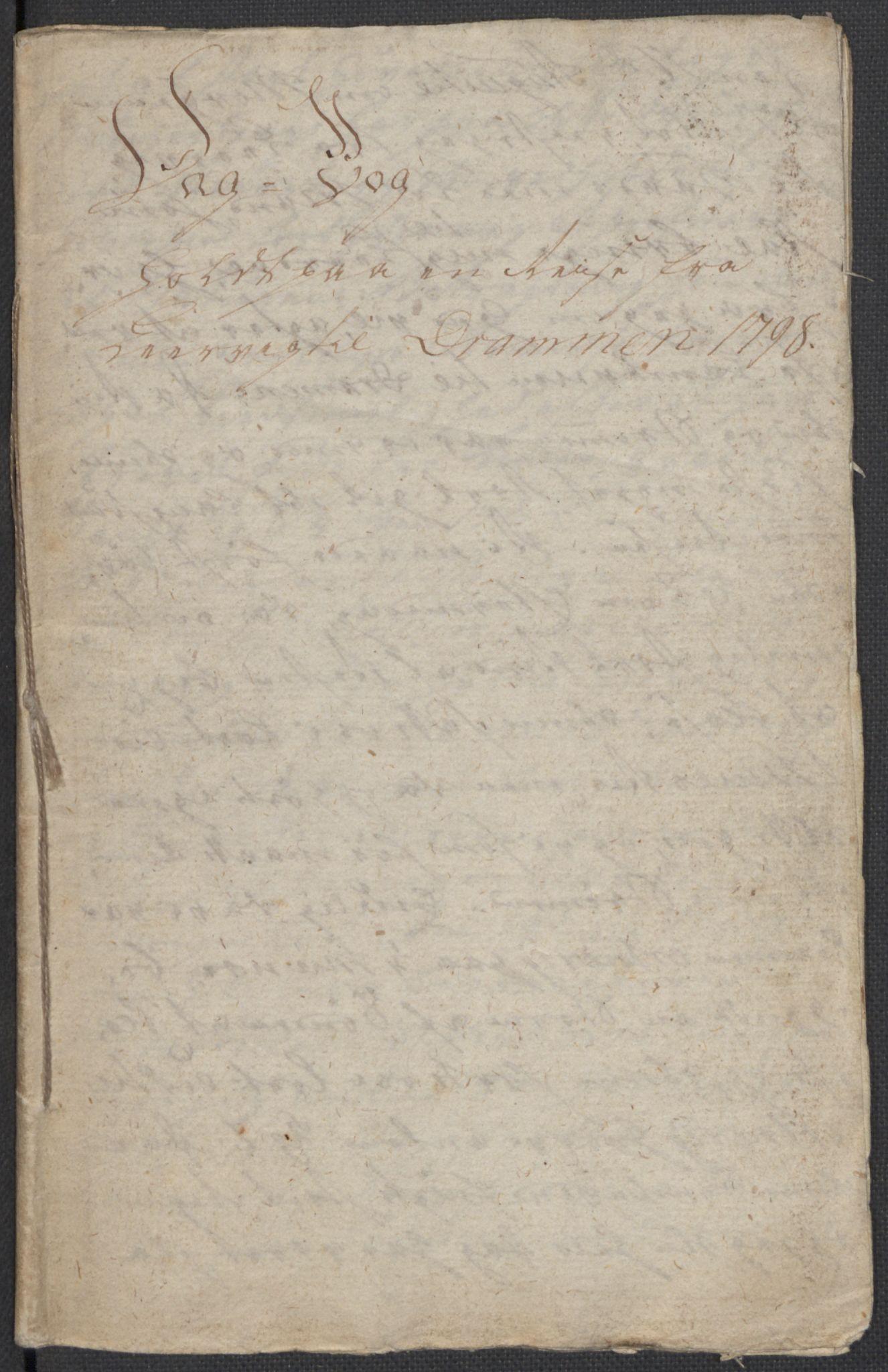 RA, Holck, Meidell, Hartvig, F/L0001: (Kassett) Dagbøker ført av Ole Elias v.Holck, 1798-1842, s. 16