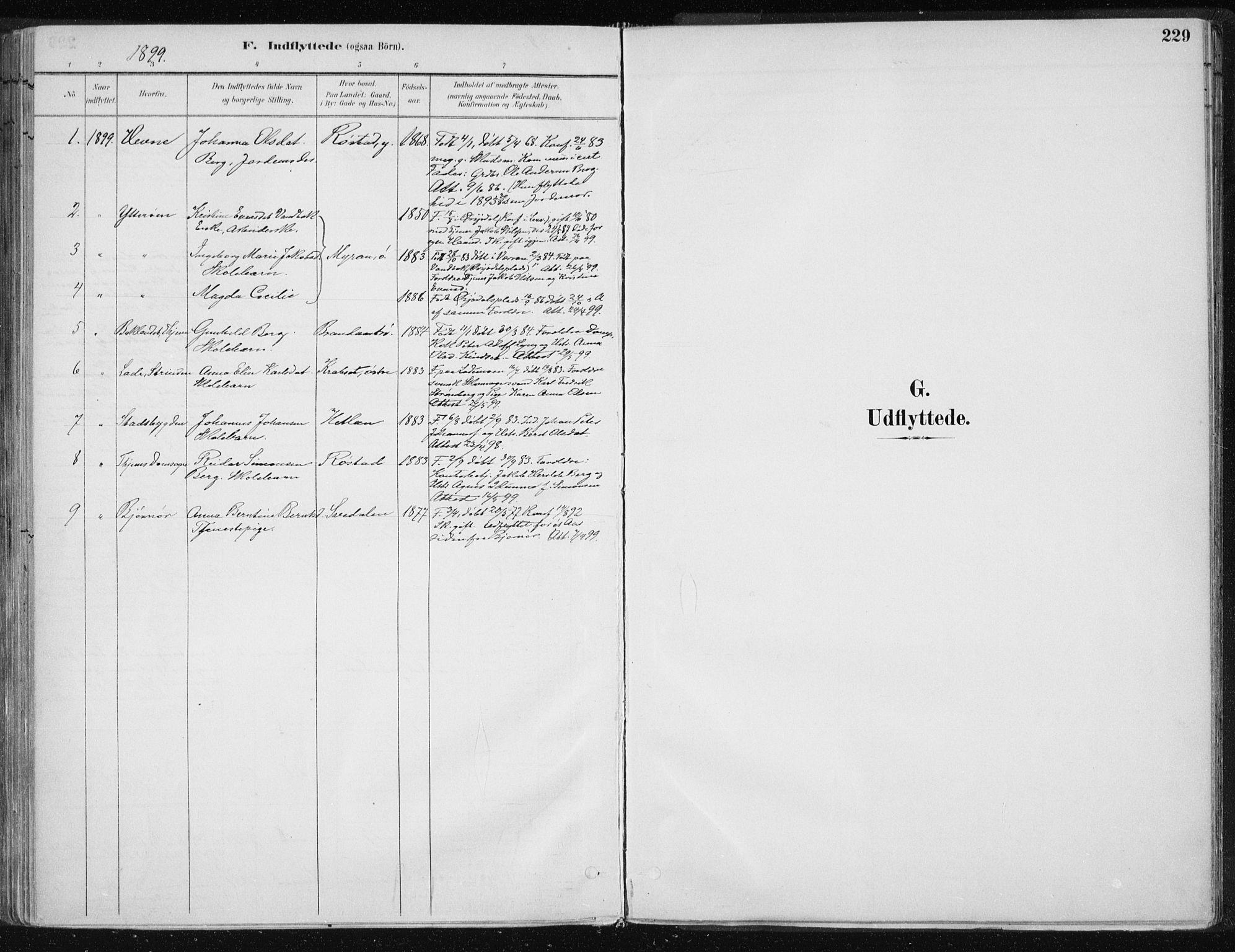 SAT, Ministerialprotokoller, klokkerbøker og fødselsregistre - Nord-Trøndelag, 701/L0010: Ministerialbok nr. 701A10, 1883-1899, s. 227