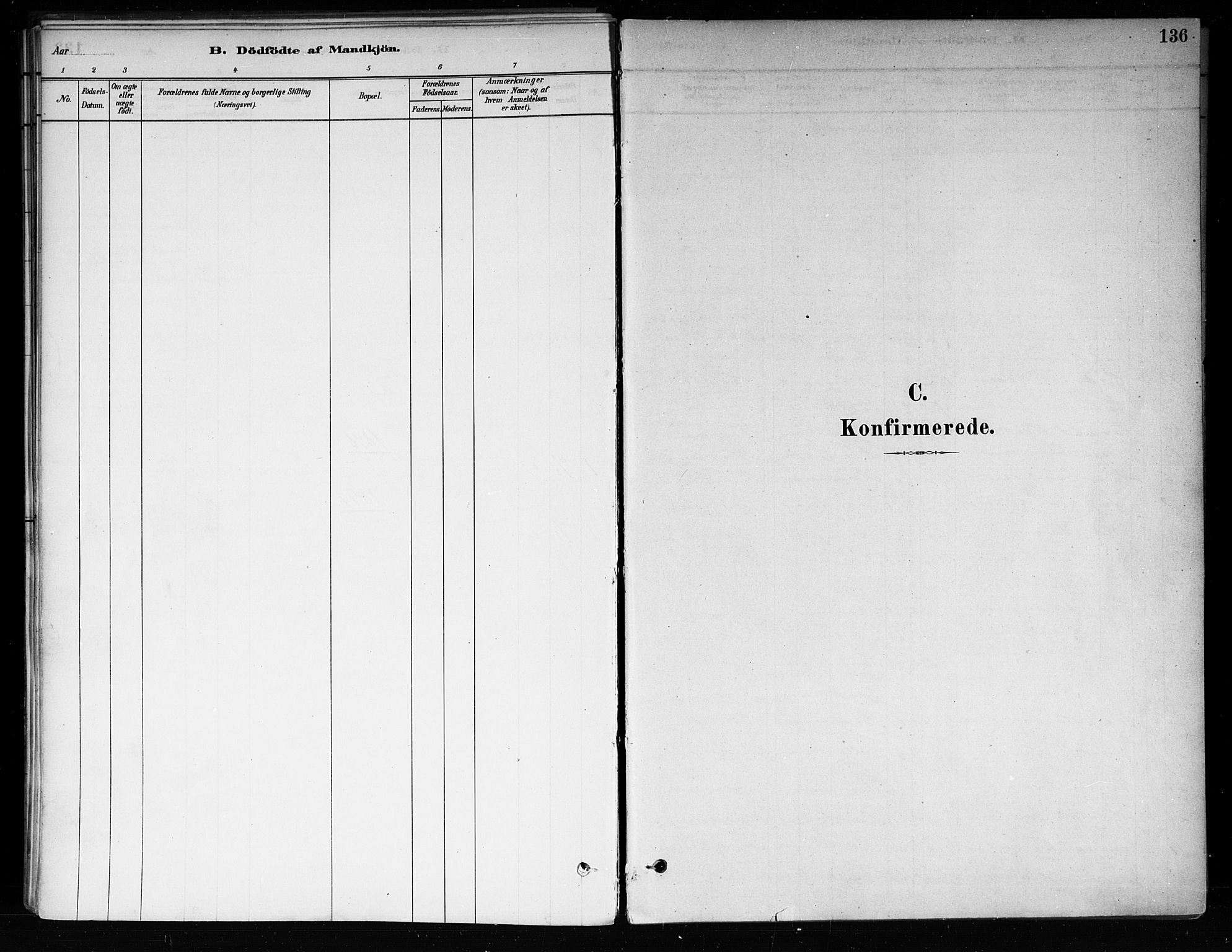 SAKO, Røyken kirkebøker, F/Fa/L0008: Ministerialbok nr. 8, 1880-1897, s. 136