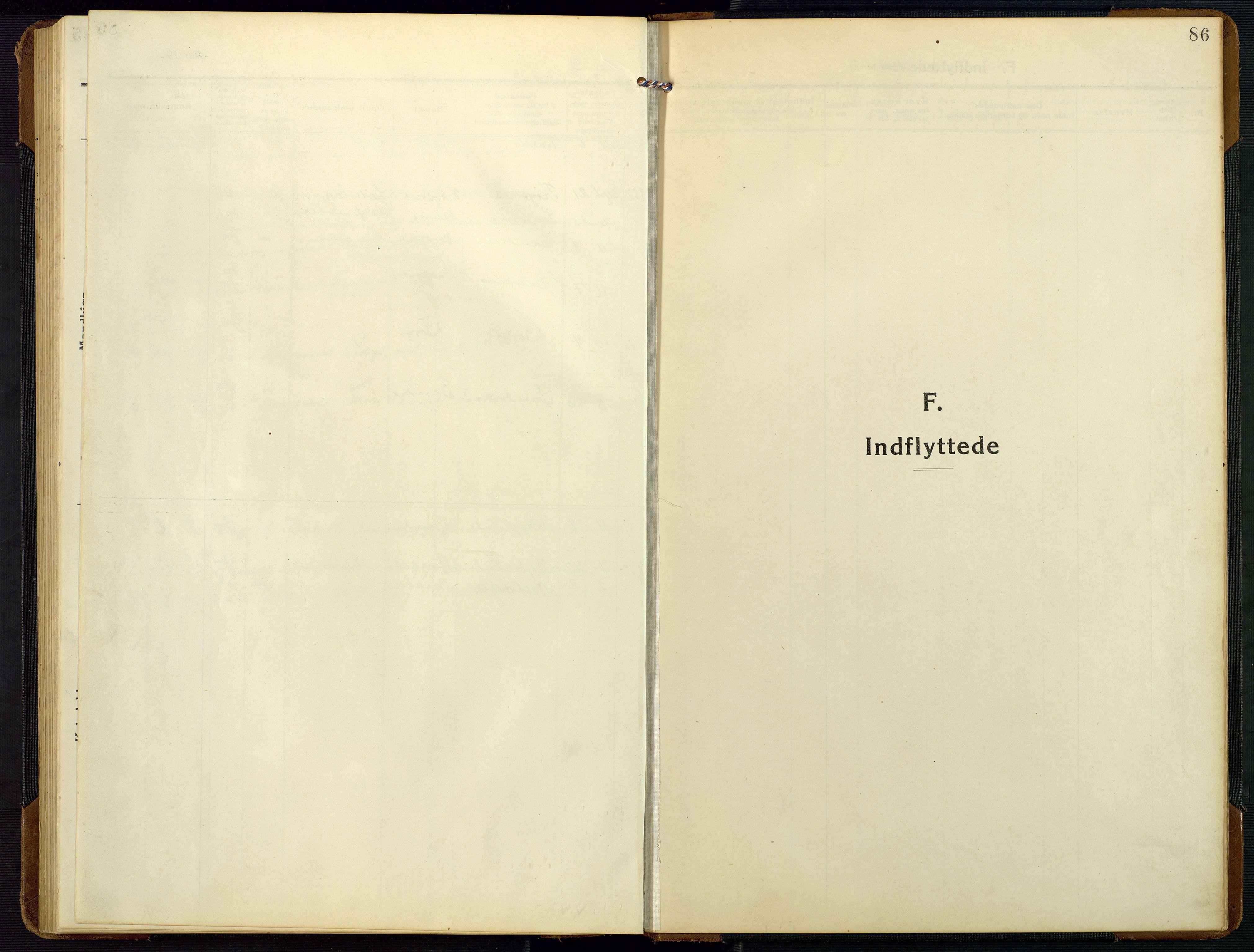 SAK, Bygland sokneprestkontor, F/Fb/Fbc/L0003: Klokkerbok nr. B 3, 1916-1975, s. 86