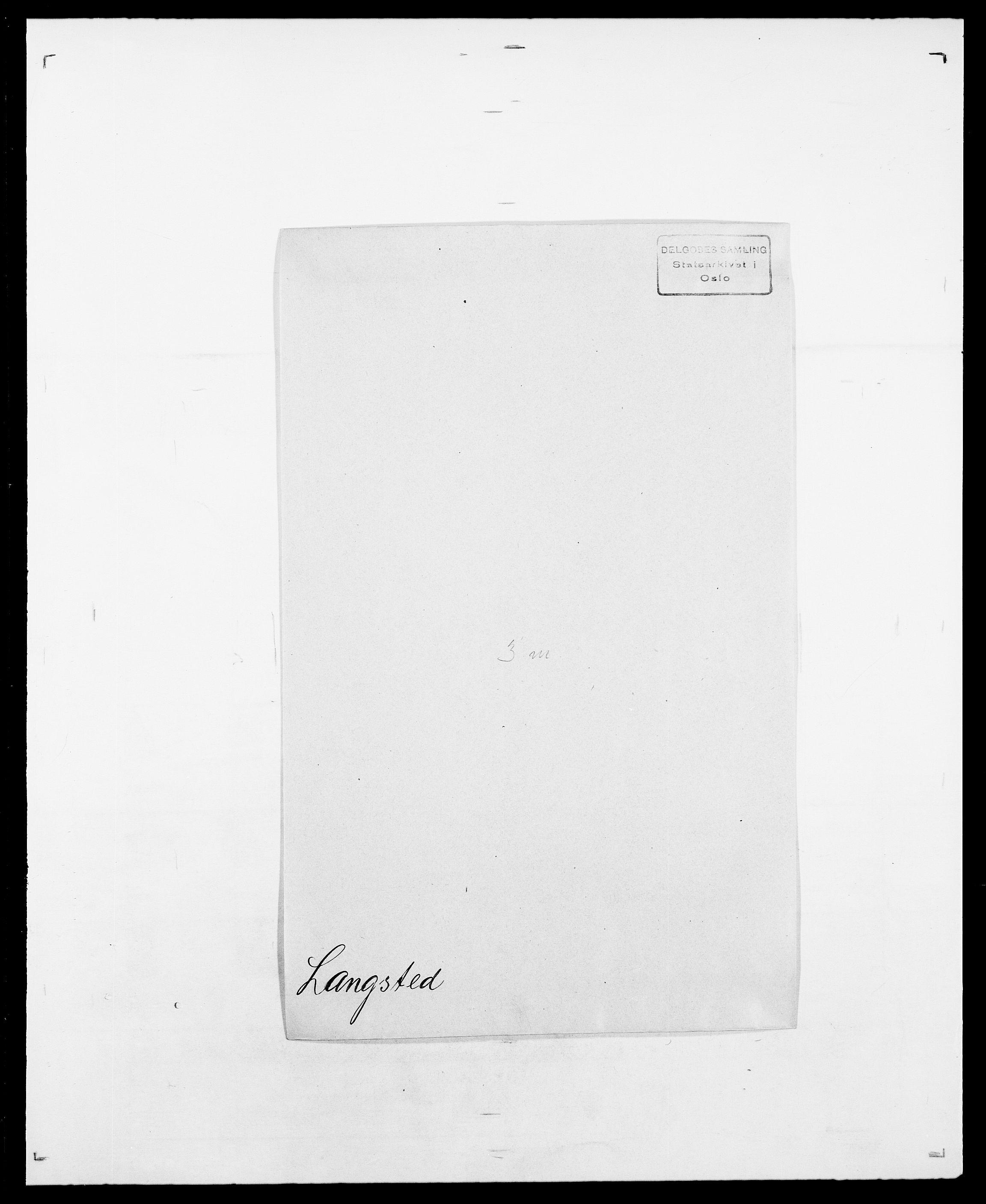 SAO, Delgobe, Charles Antoine - samling, D/Da/L0022: Krog - Lasteen, s. 709