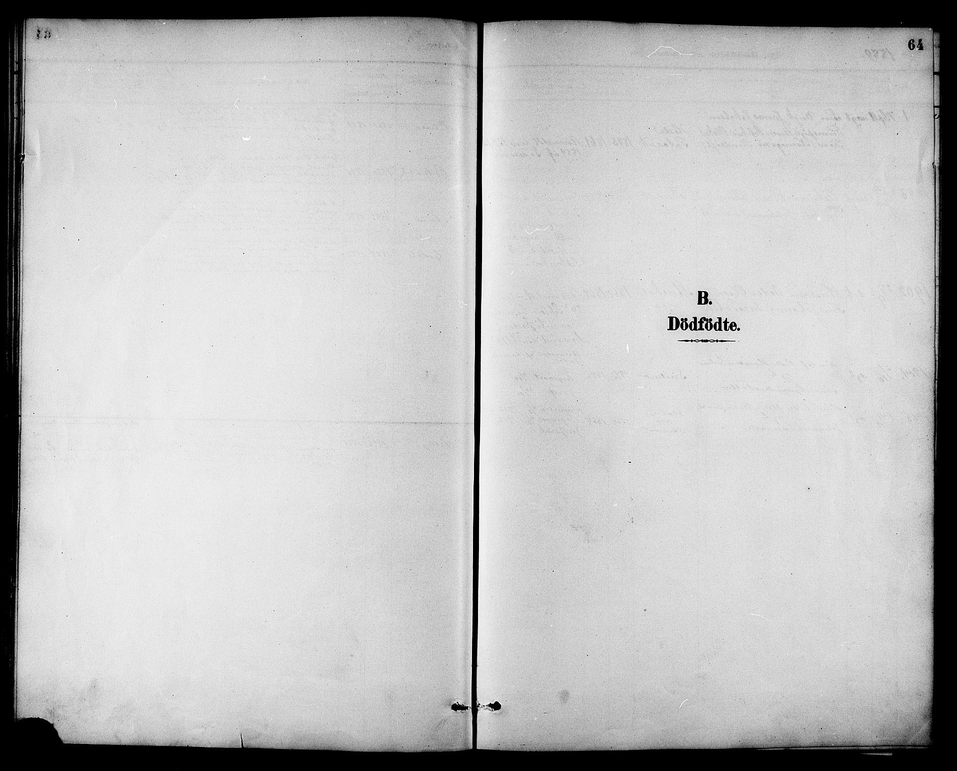 SAT, Ministerialprotokoller, klokkerbøker og fødselsregistre - Sør-Trøndelag, 698/L1167: Klokkerbok nr. 698C04, 1888-1907, s. 64