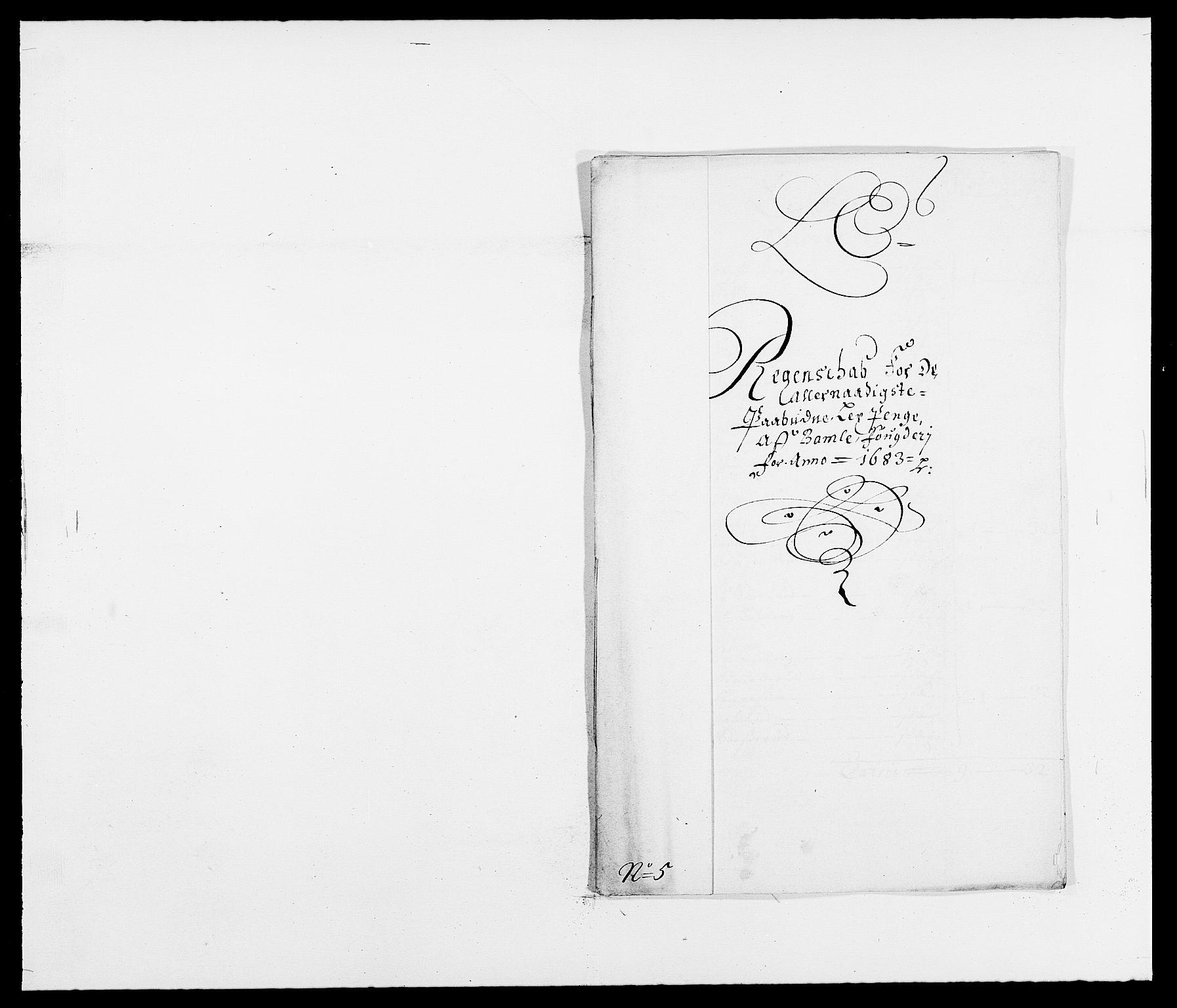 RA, Rentekammeret inntil 1814, Reviderte regnskaper, Fogderegnskap, R34/L2046: Fogderegnskap Bamble, 1682-1683, s. 327