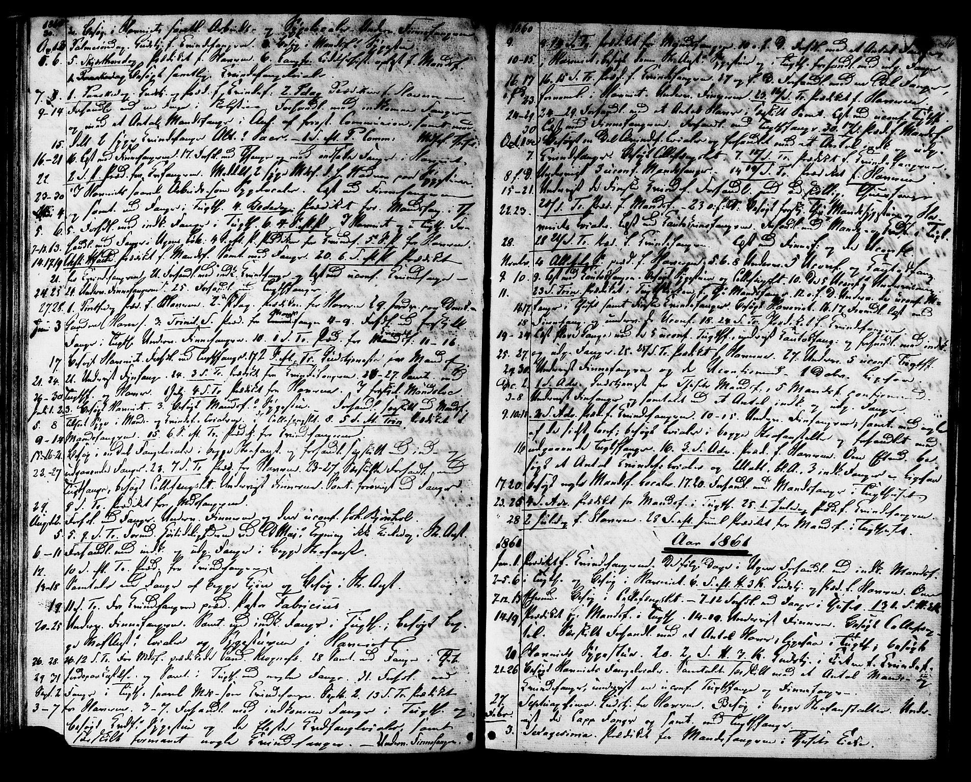 SAT, Ministerialprotokoller, klokkerbøker og fødselsregistre - Sør-Trøndelag, 624/L0481: Ministerialbok nr. 624A02, 1841-1869, s. 46