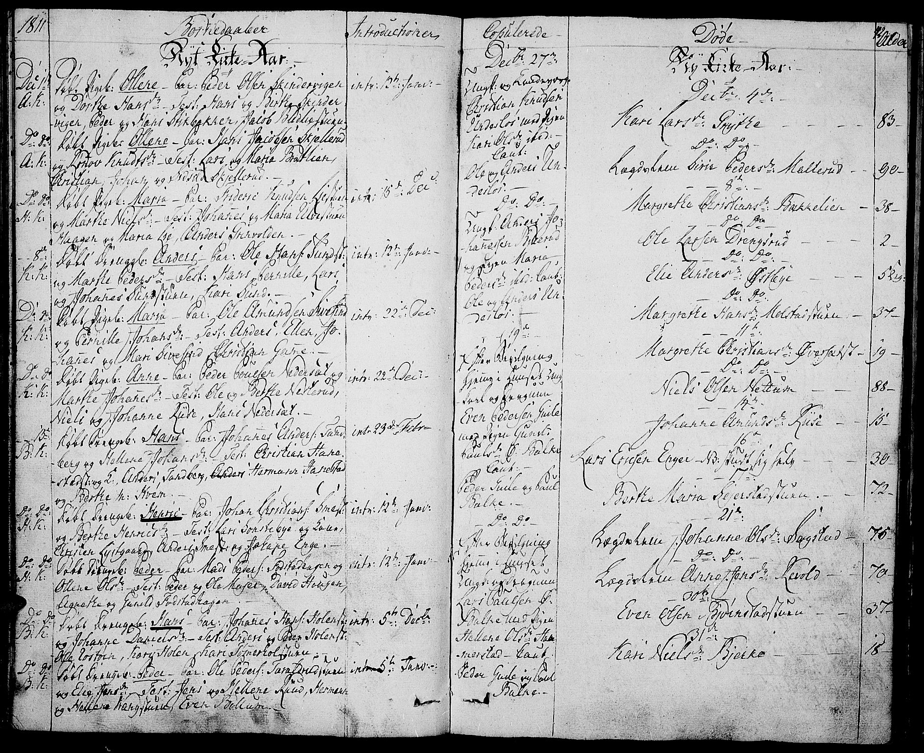 SAH, Toten prestekontor, Ministerialbok nr. 8, 1809-1814, s. 42