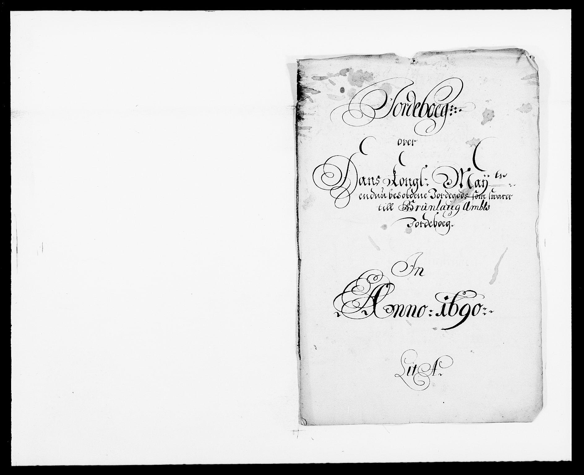 RA, Rentekammeret inntil 1814, Reviderte regnskaper, Fogderegnskap, R33/L1972: Fogderegnskap Larvik grevskap, 1690-1691, s. 19