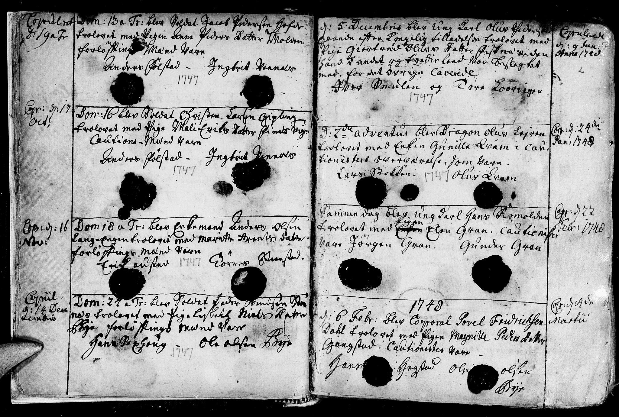 SAT, Ministerialprotokoller, klokkerbøker og fødselsregistre - Nord-Trøndelag, 730/L0272: Ministerialbok nr. 730A01, 1733-1764, s. 7