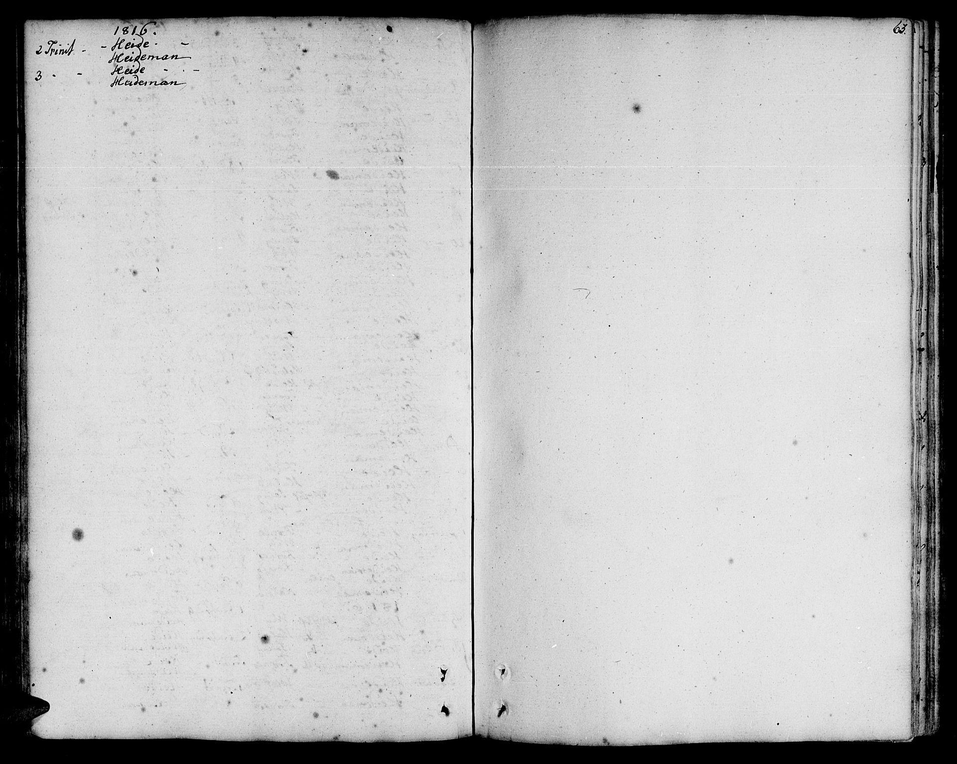 SAT, Ministerialprotokoller, klokkerbøker og fødselsregistre - Nord-Trøndelag, 773/L0608: Ministerialbok nr. 773A02, 1784-1816, s. 63