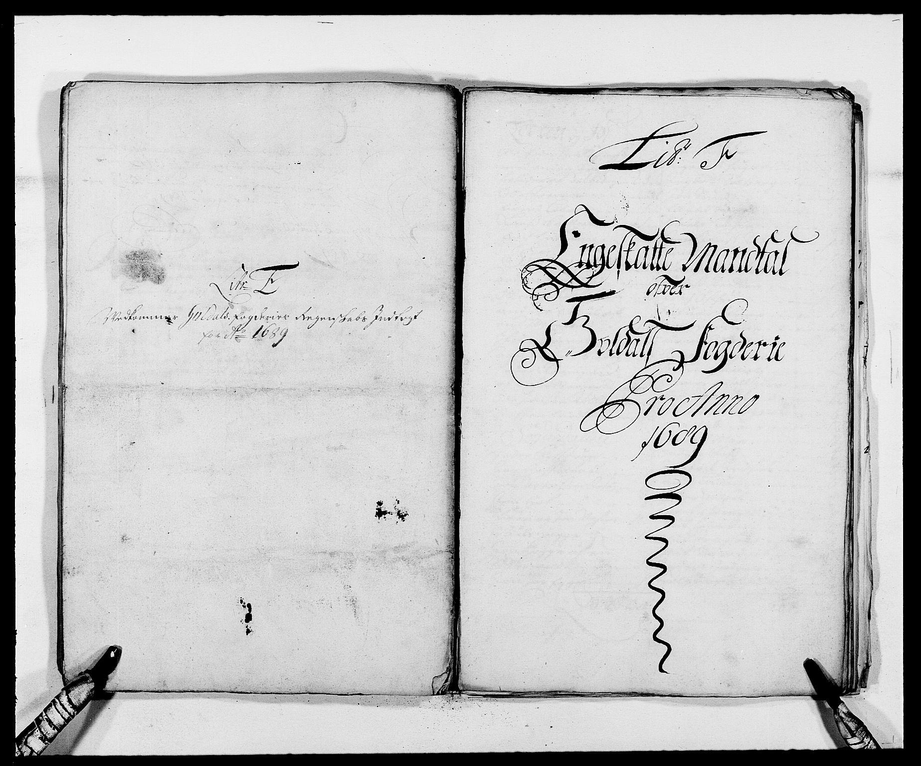 RA, Rentekammeret inntil 1814, Reviderte regnskaper, Fogderegnskap, R59/L3940: Fogderegnskap Gauldal, 1689-1690, s. 73