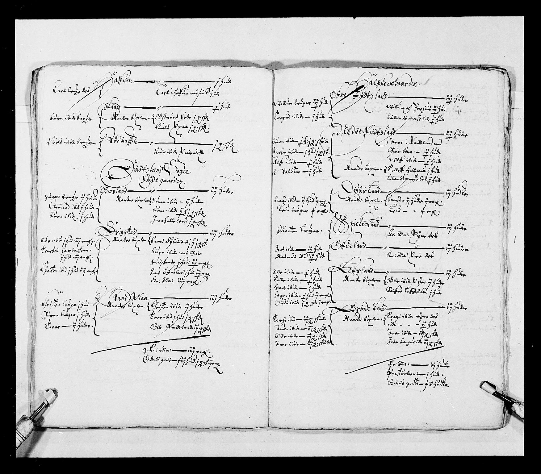 RA, Stattholderembetet 1572-1771, Ek/L0023: Jordebøker 1633-1658:, 1648-1649, s. 71