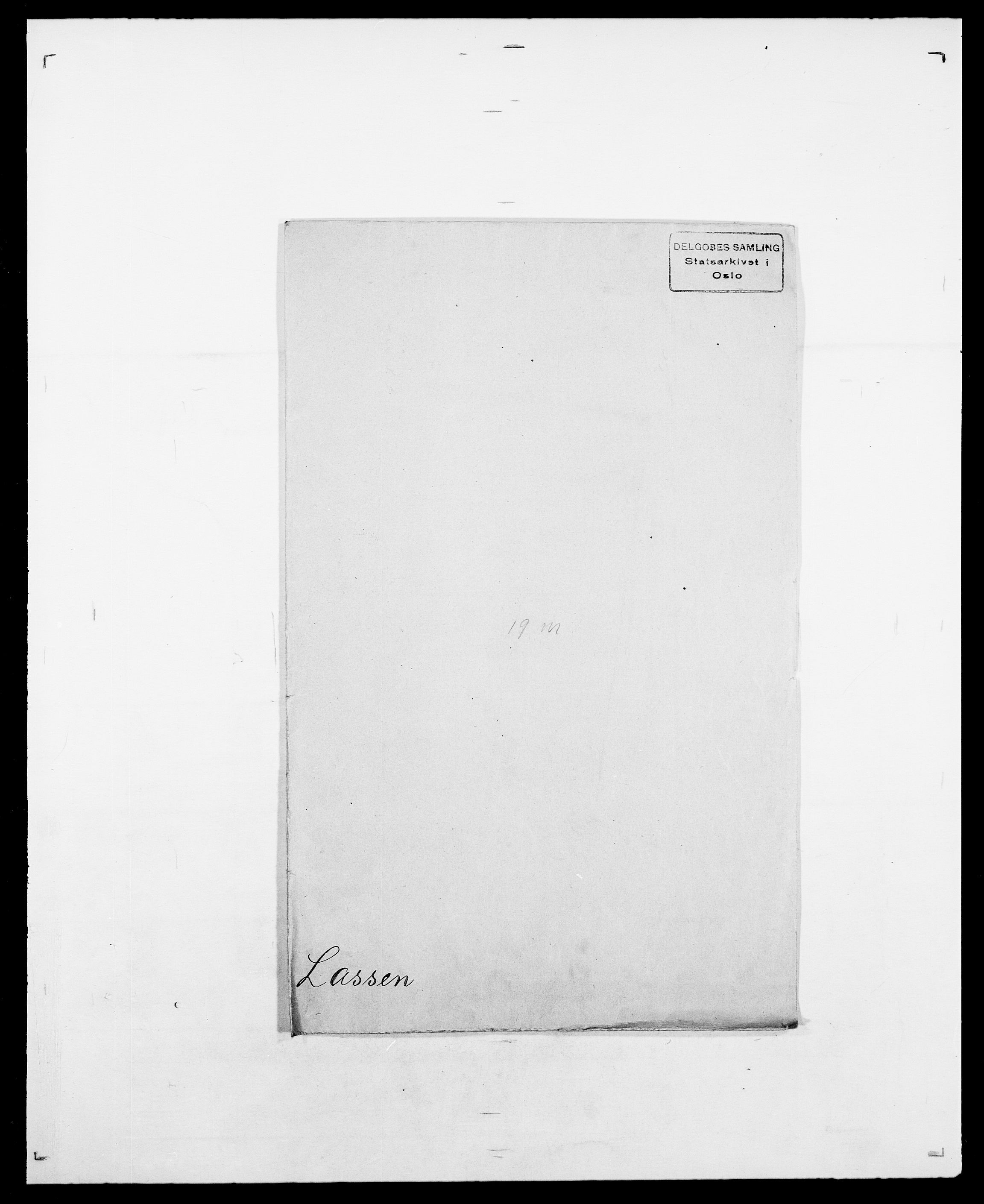 SAO, Delgobe, Charles Antoine - samling, D/Da/L0022: Krog - Lasteen, s. 798