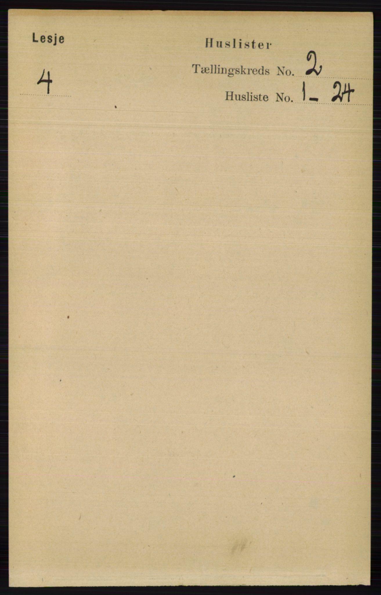 RA, Folketelling 1891 for 0512 Lesja herred, 1891, s. 369