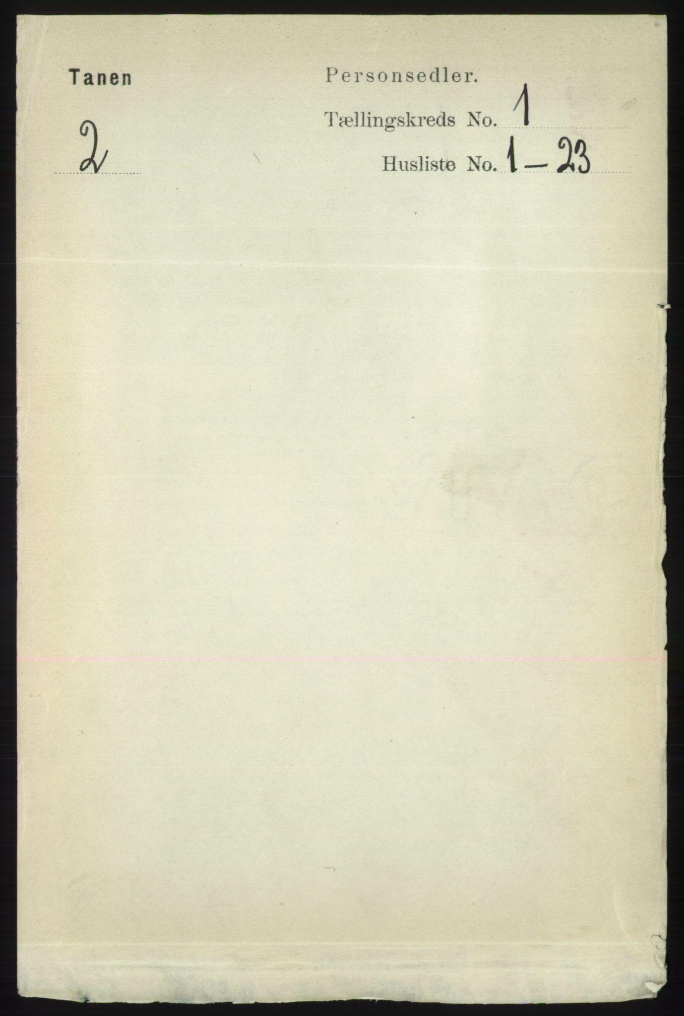 RA, Folketelling 1891 for 2025 Tana herred, 1891, s. 113