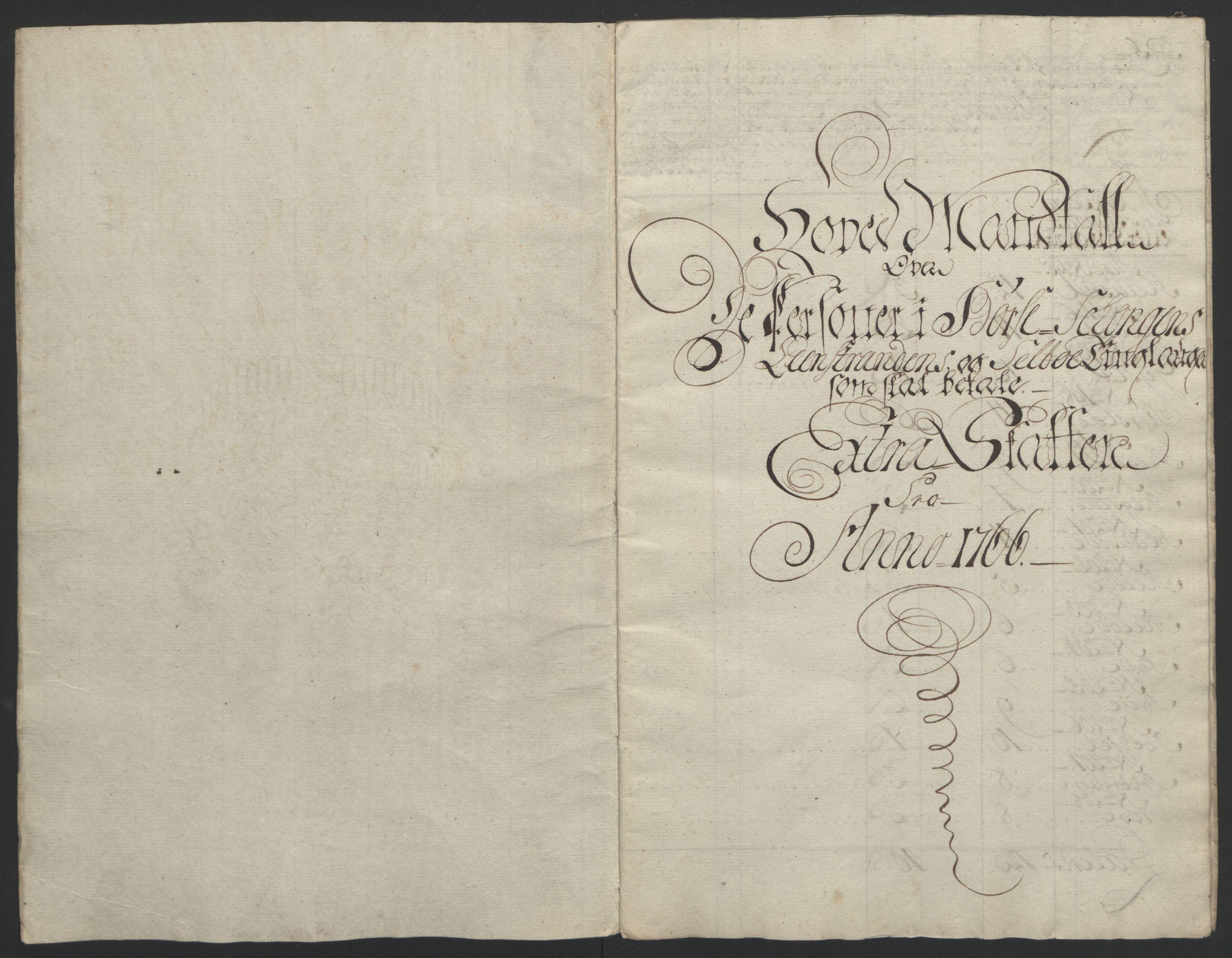 RA, Rentekammeret inntil 1814, Reviderte regnskaper, Fogderegnskap, R61/L4180: Ekstraskatten Strinda og Selbu, 1762-1767, s. 264