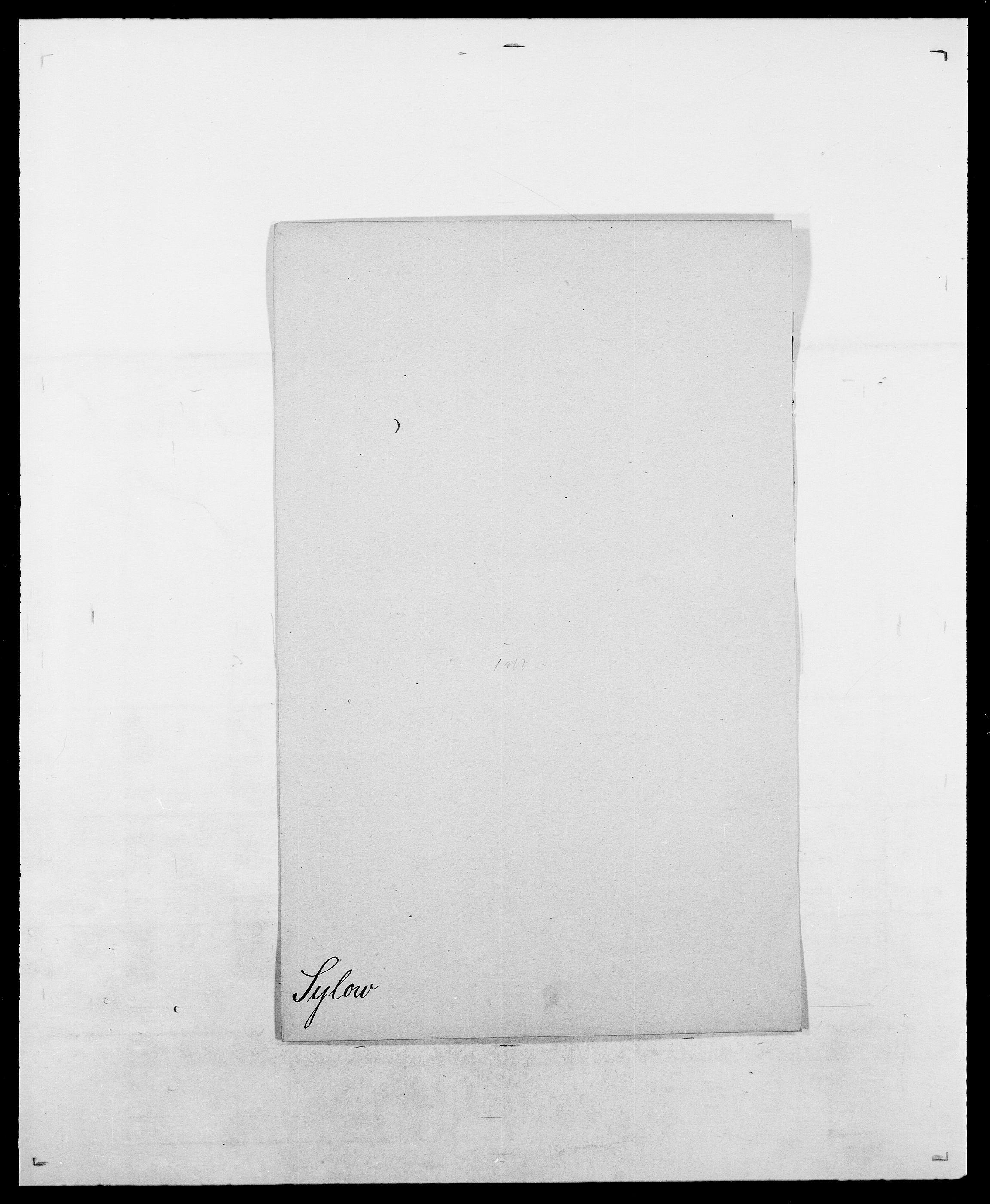 SAO, Delgobe, Charles Antoine - samling, D/Da/L0038: Svanenskjold - Thornsohn, s. 91